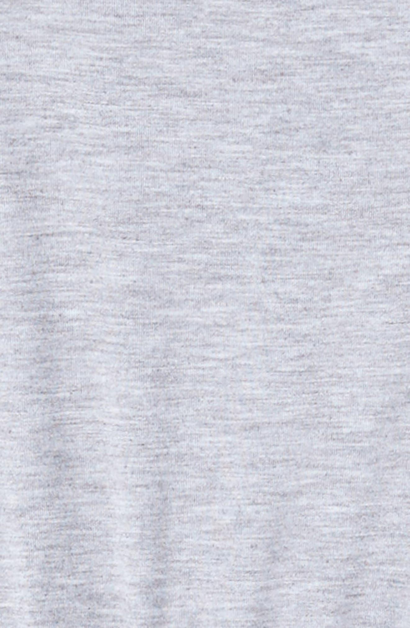 Sporty T-Shirt Dress,                             Alternate thumbnail 3, color,