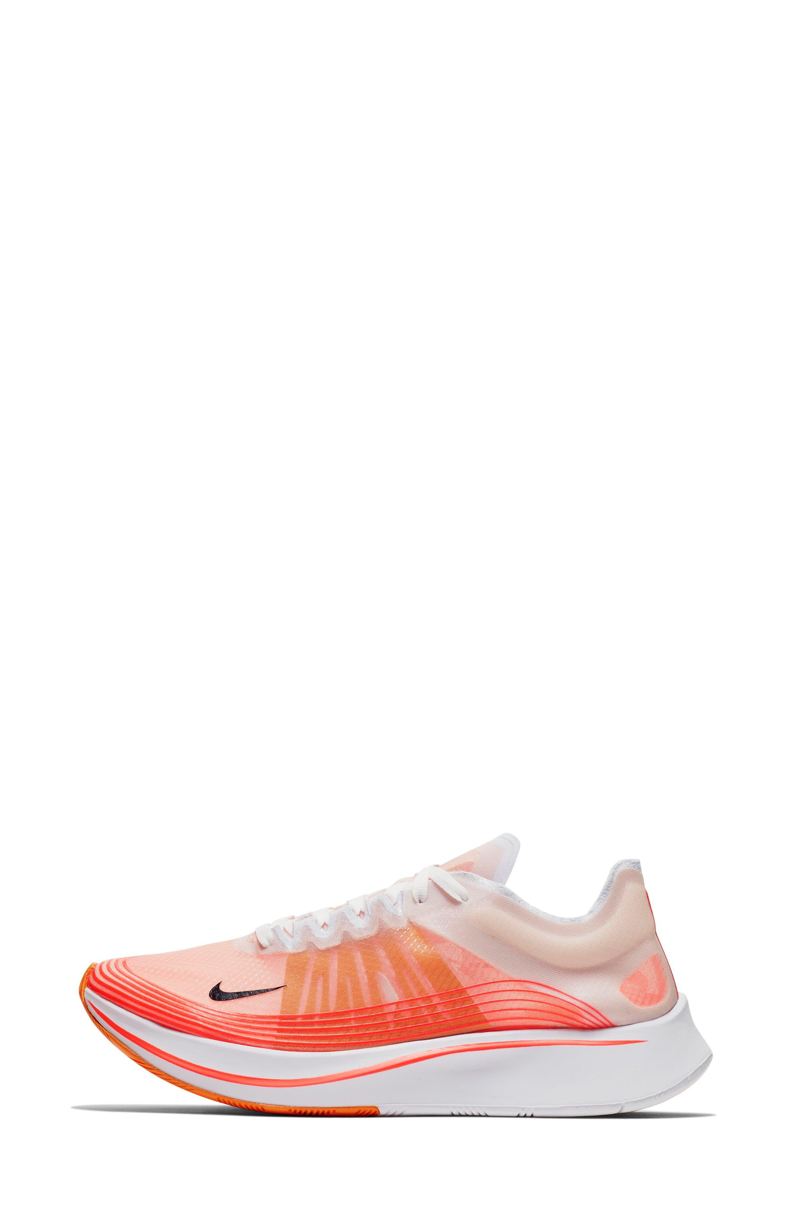 Zoom Fly SP Running Shoe,                             Alternate thumbnail 3, color,                             VARSITY RED/ BLACK/ WHITE