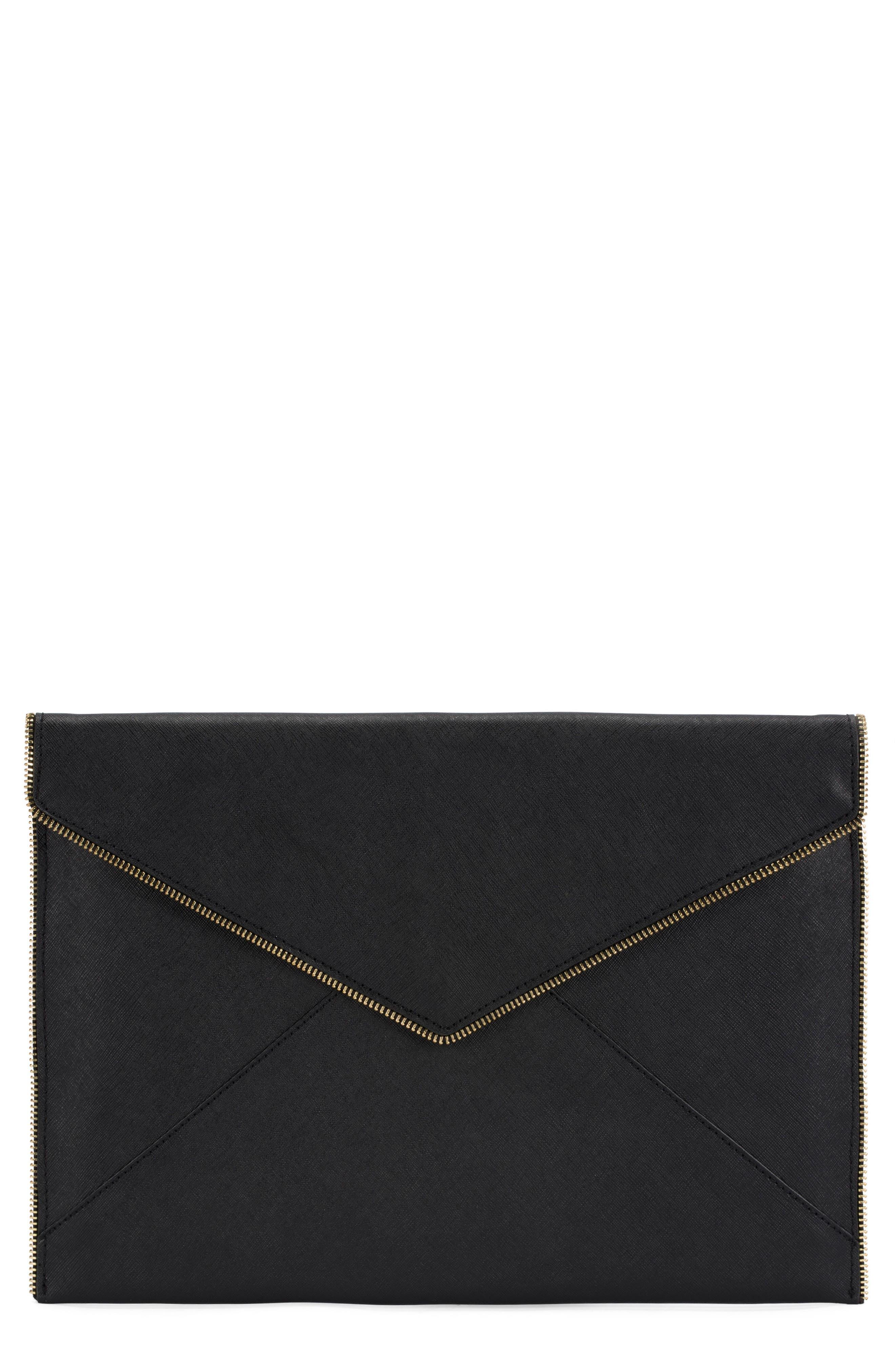 Leo Leather 13-Inch Laptop Case,                             Main thumbnail 1, color,                             001