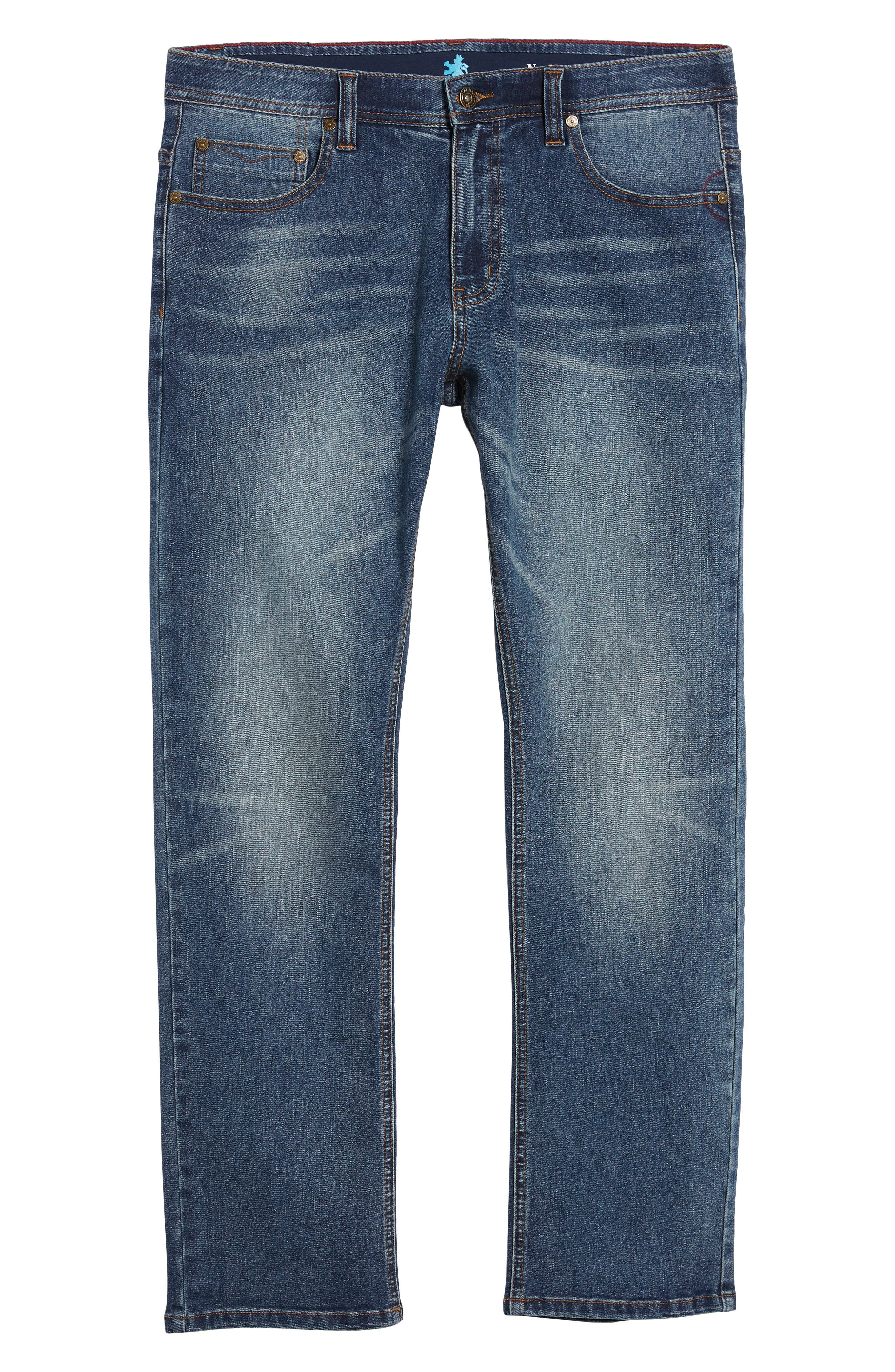 Maverick Stretch Slim Fit Jeans,                             Alternate thumbnail 6, color,                             MAVERICK WASH