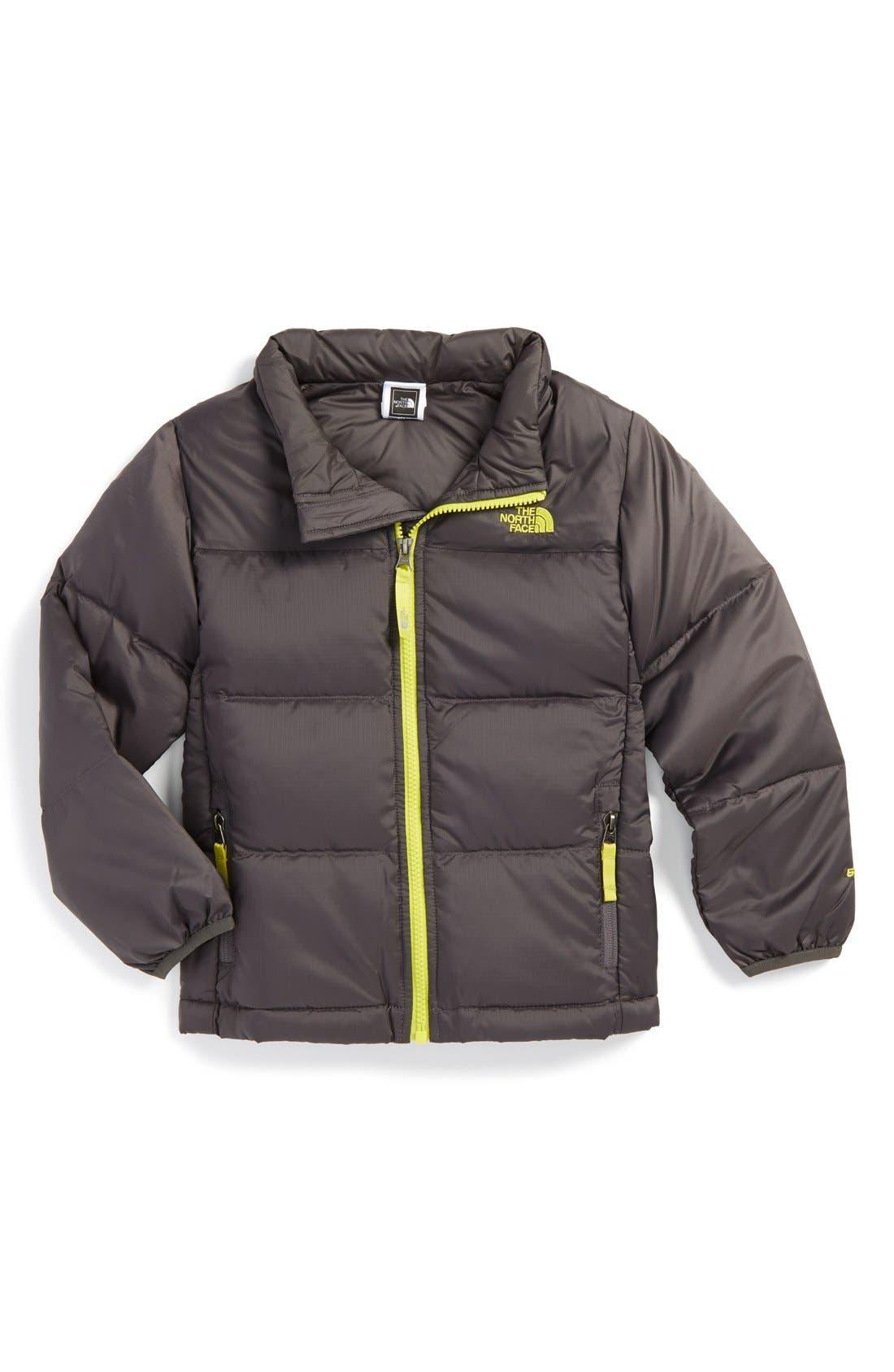 'Nuptse II'  Water Resistant Down Jacket, Main, color, 020