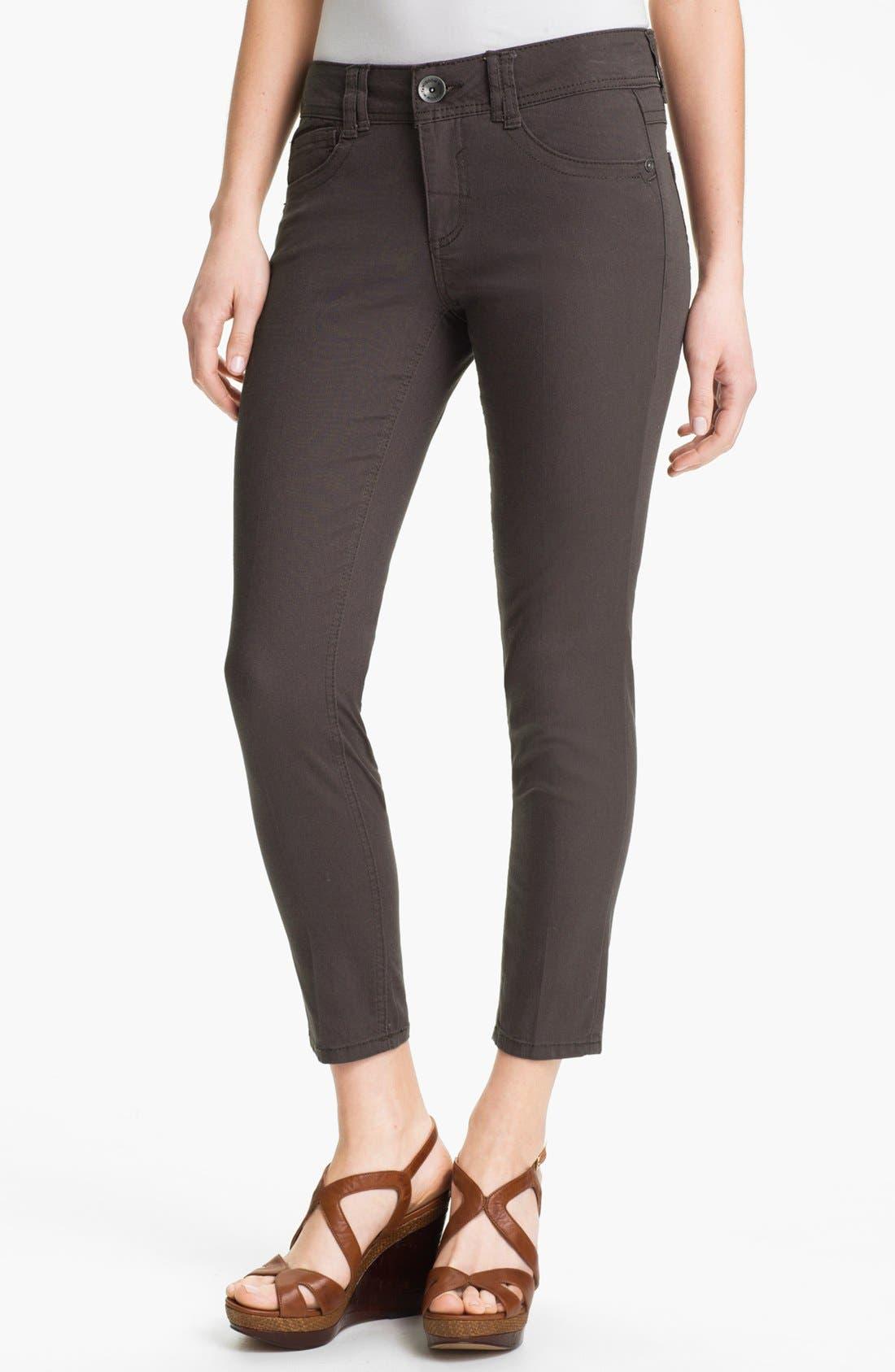 Colored Denim Skinny Jeans,                             Main thumbnail 1, color,                             020