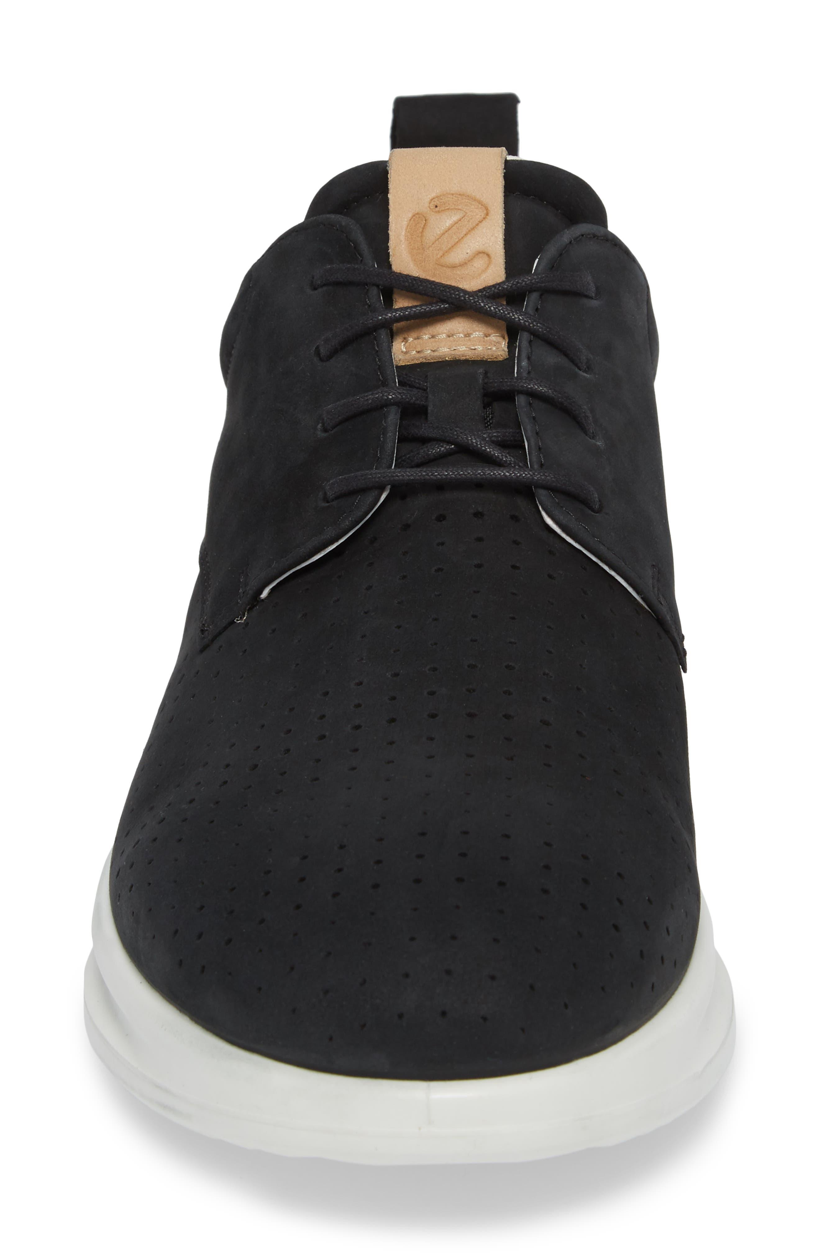 ECCO,                             Aquet Sneaker,                             Alternate thumbnail 4, color,                             007