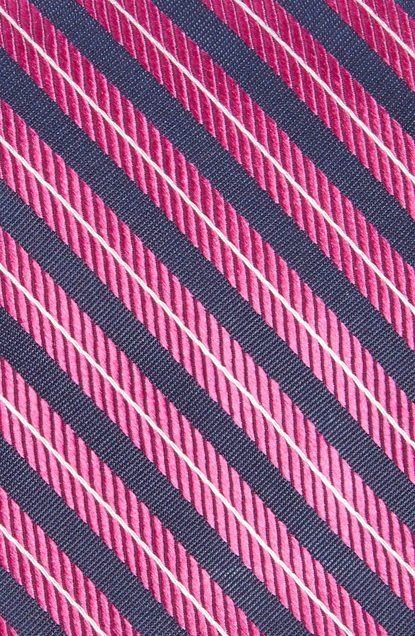 Milliner Stripe Silk Tie,                             Alternate thumbnail 6, color,