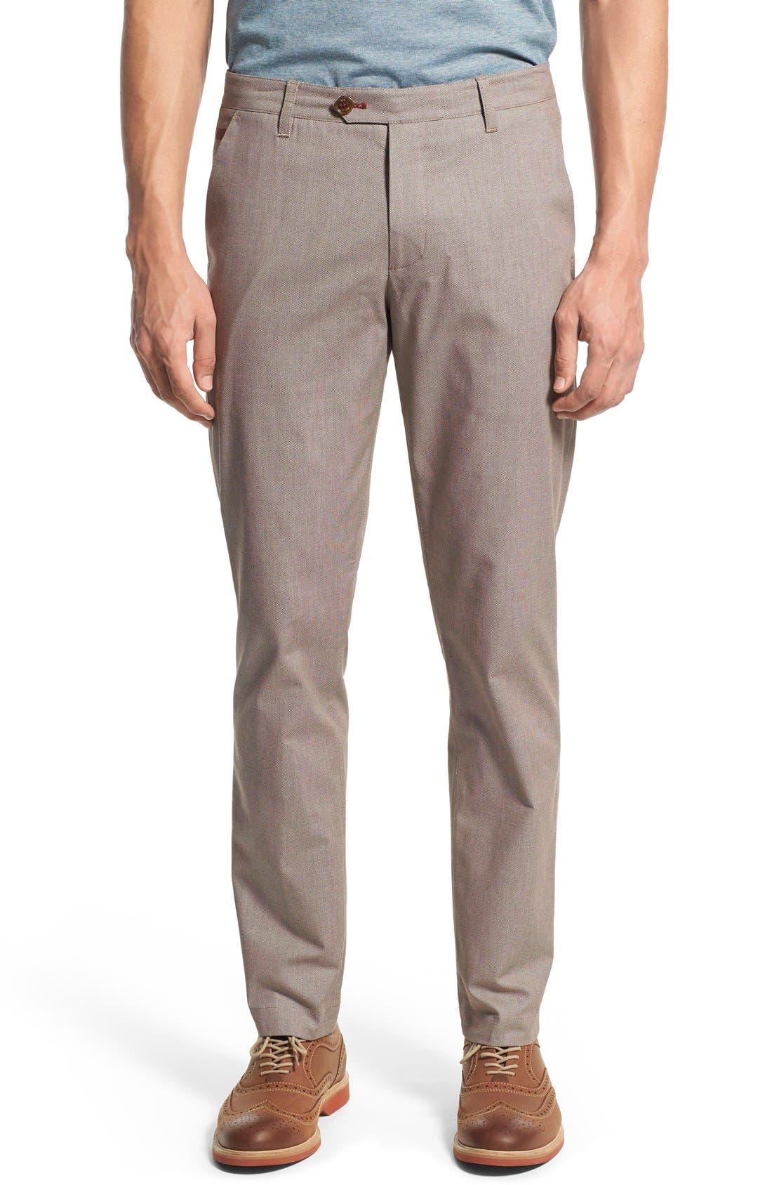 'Timmet' Classic Fit Pants,                             Main thumbnail 1, color,                             103