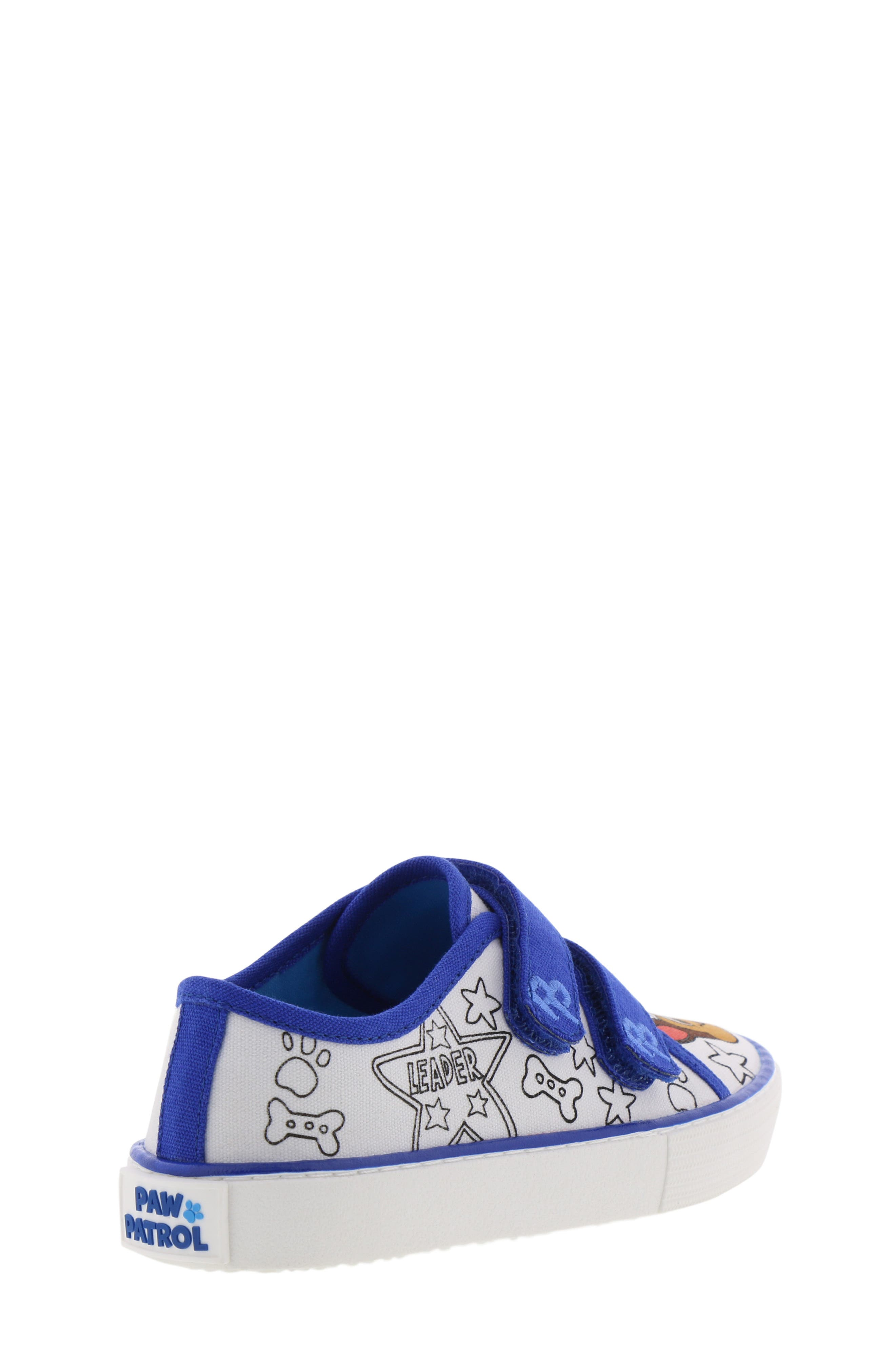 Chase Color DIY Sneaker,                             Alternate thumbnail 2, color,                             WHITE CHASE BLUE