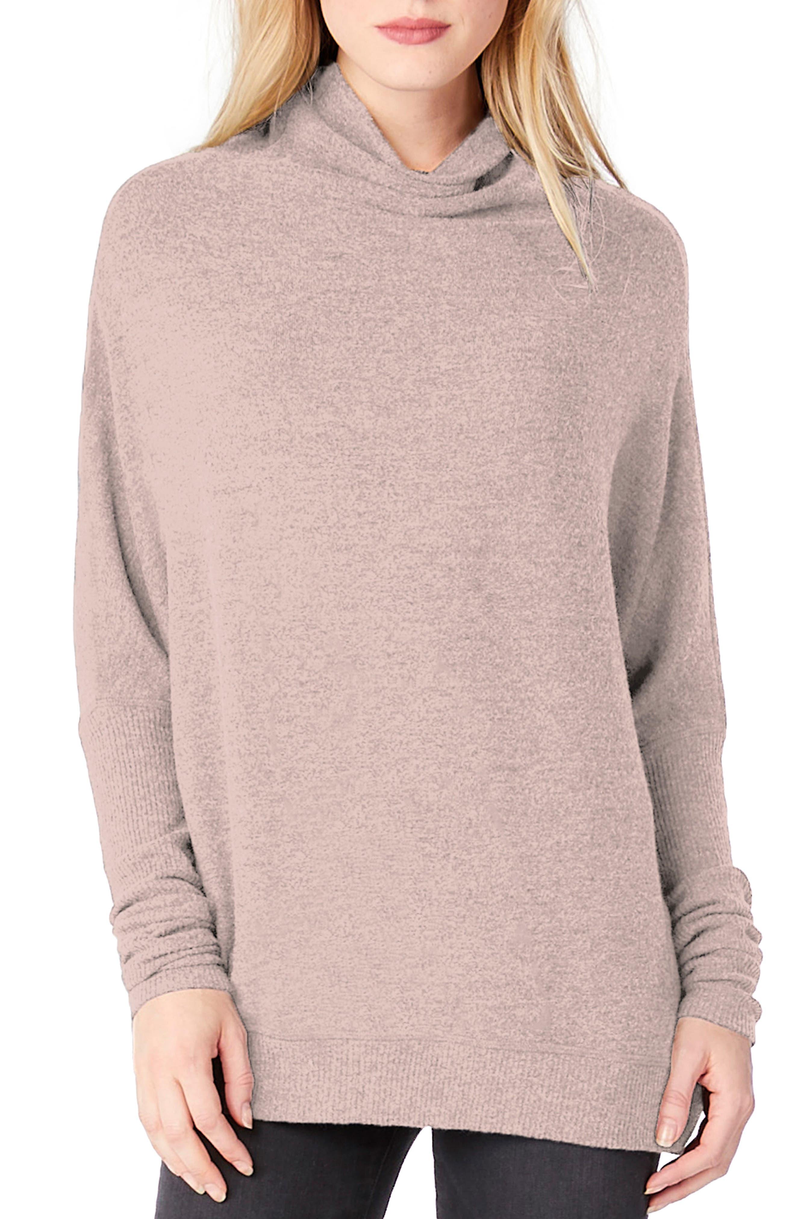 Mock Neck Dolman Shirt,                             Main thumbnail 3, color,