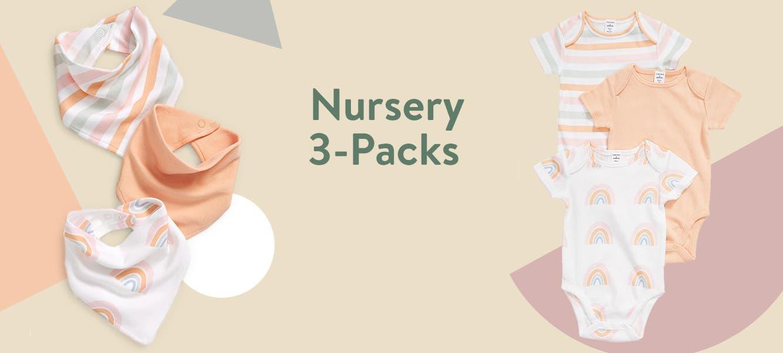 3-packs from Nordstrom Nursery.