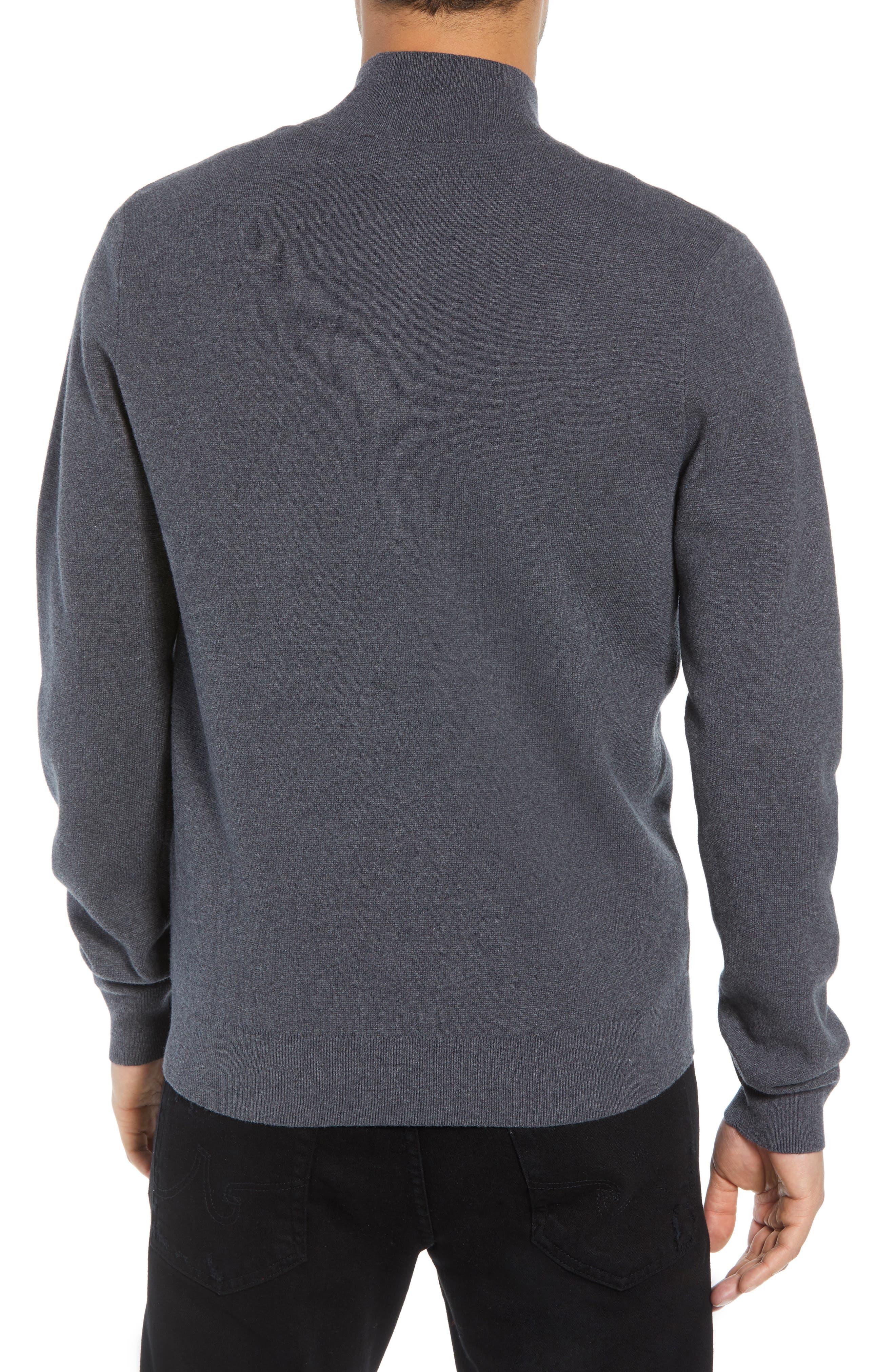 Classic Fit Skullhead Sweater,                             Alternate thumbnail 2, color,                             GREY