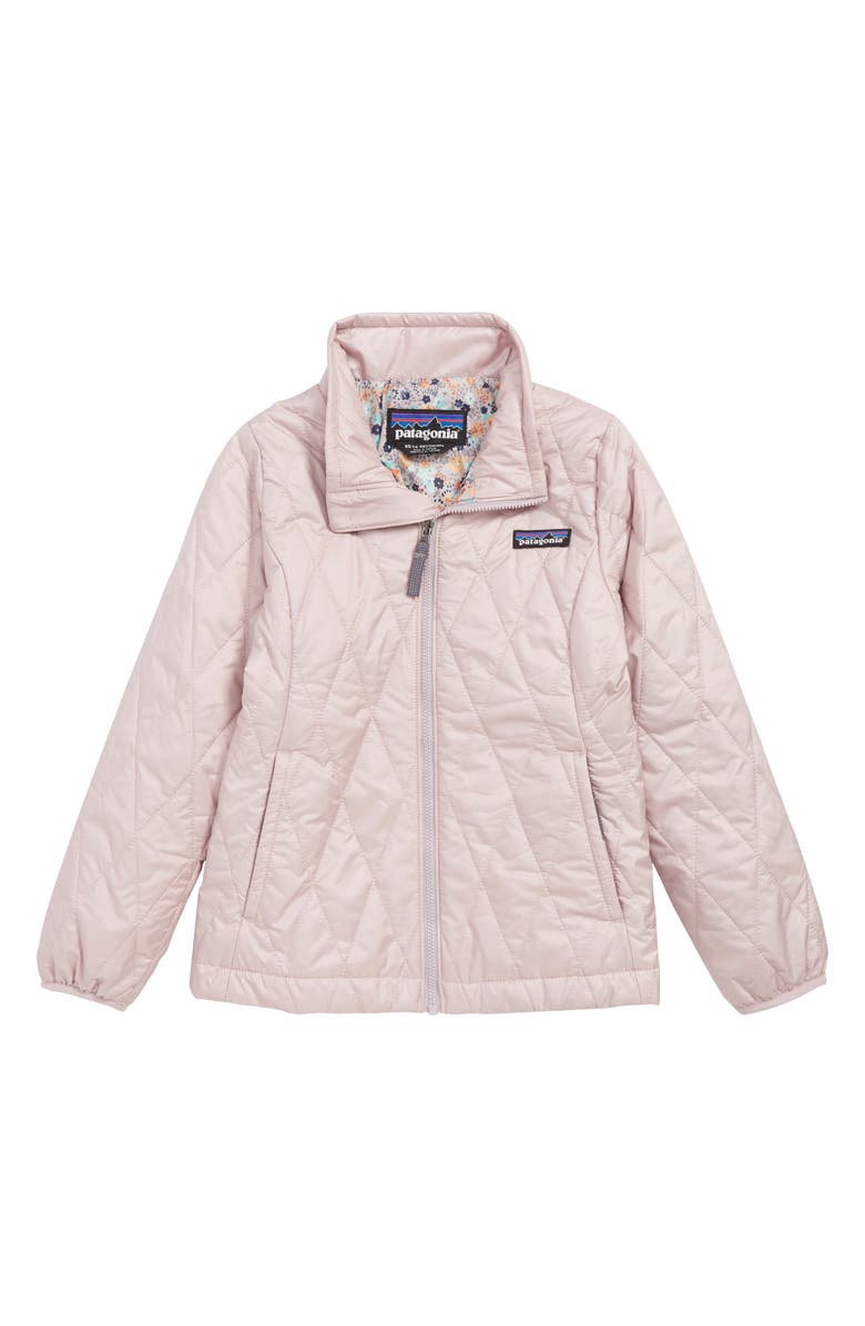 0d230cf1e Patagonia Nano Puff® Quilted Water Resistant Jacket (Little Girls ...