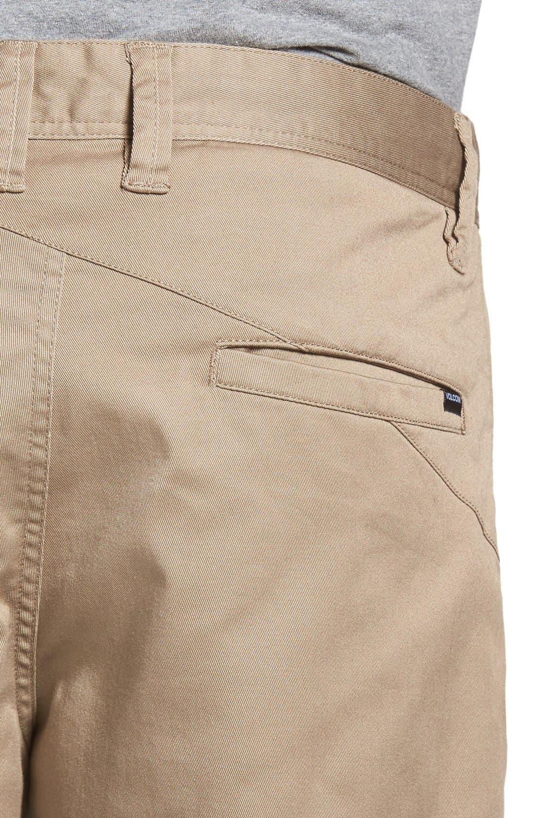 'Modern' Stretch Chino Shorts,                             Alternate thumbnail 61, color,