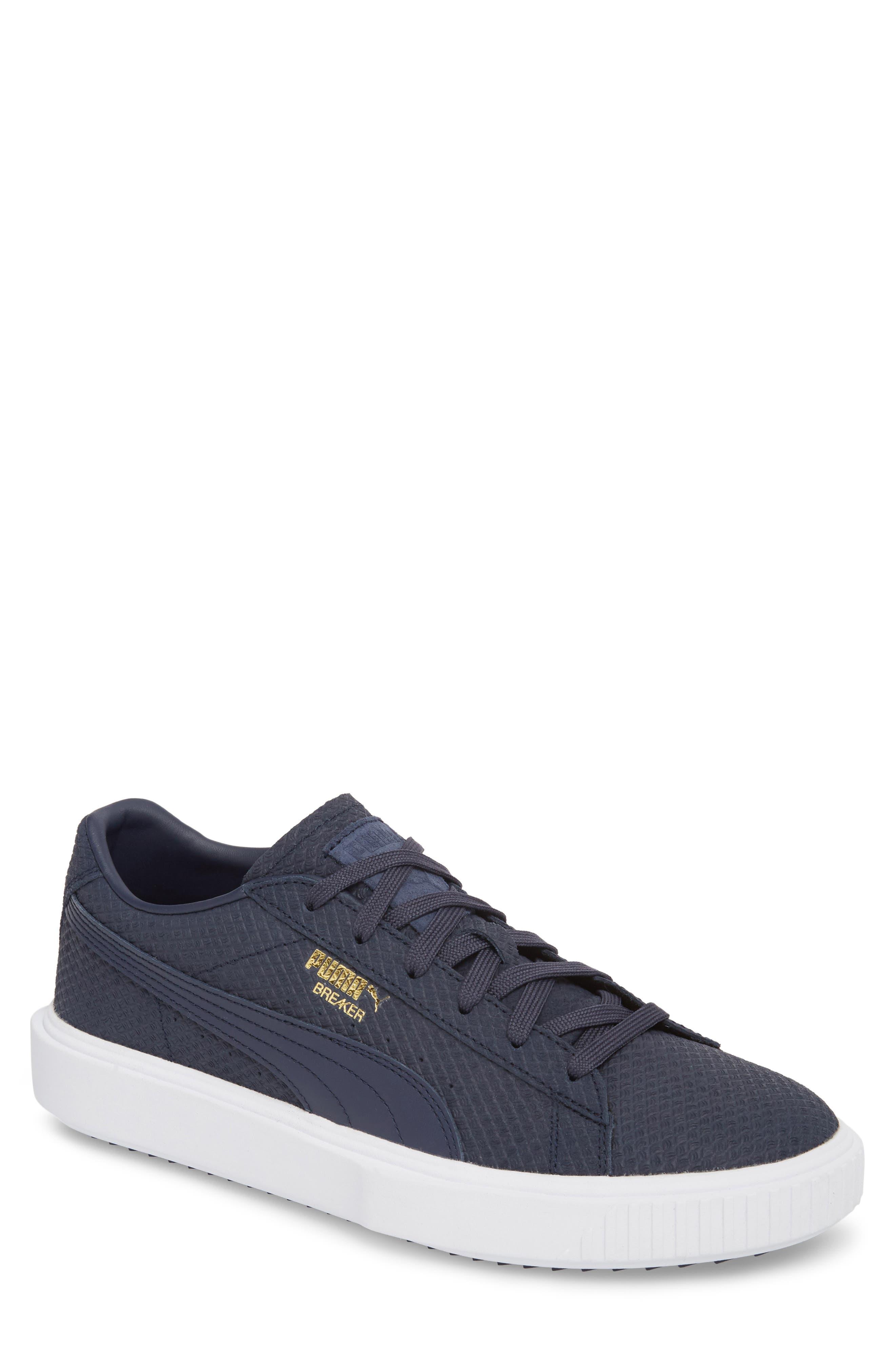 Breaker Suede Sneaker, Main, color, 400