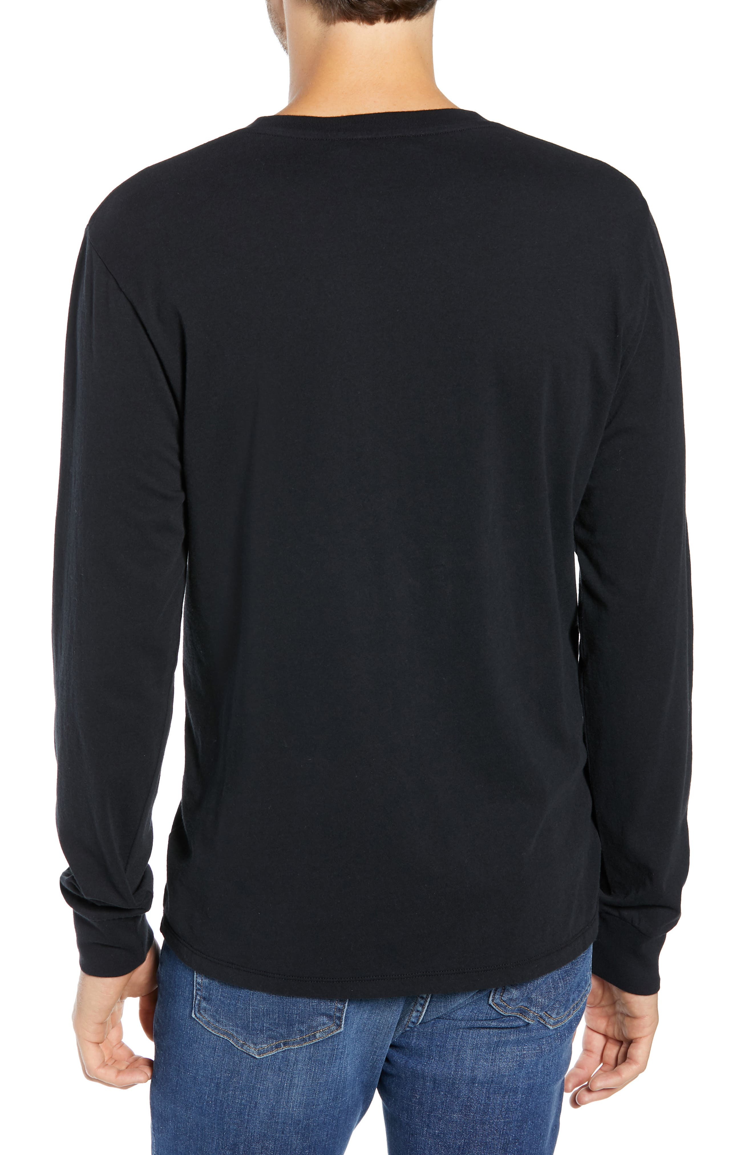 Brooklyn Banks Long Sleeve T-Shirt,                             Alternate thumbnail 2, color,                             BLACK