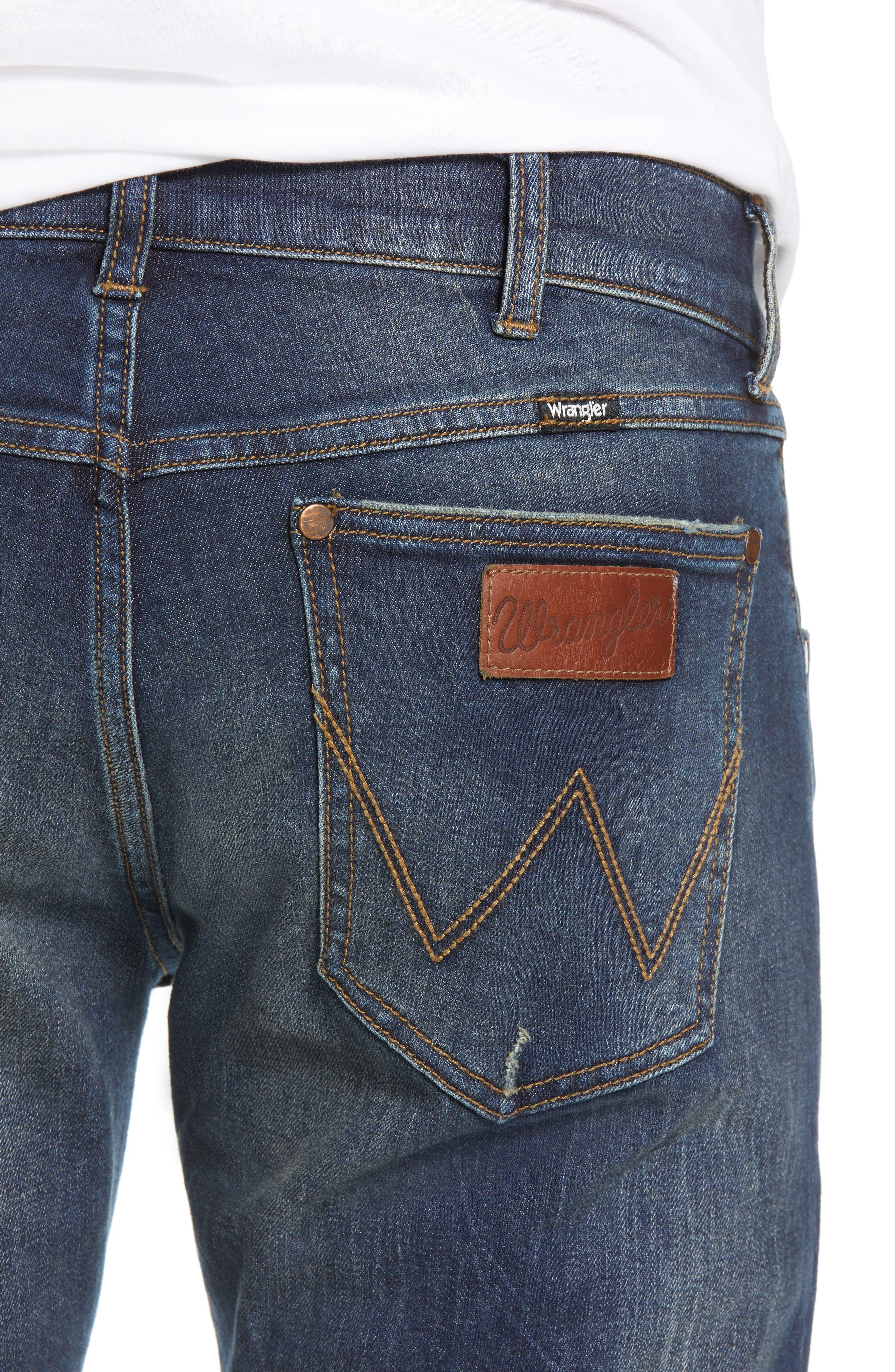 Larston Slim Fit Jeans,                             Alternate thumbnail 4, color,                             VINTAGE DARK