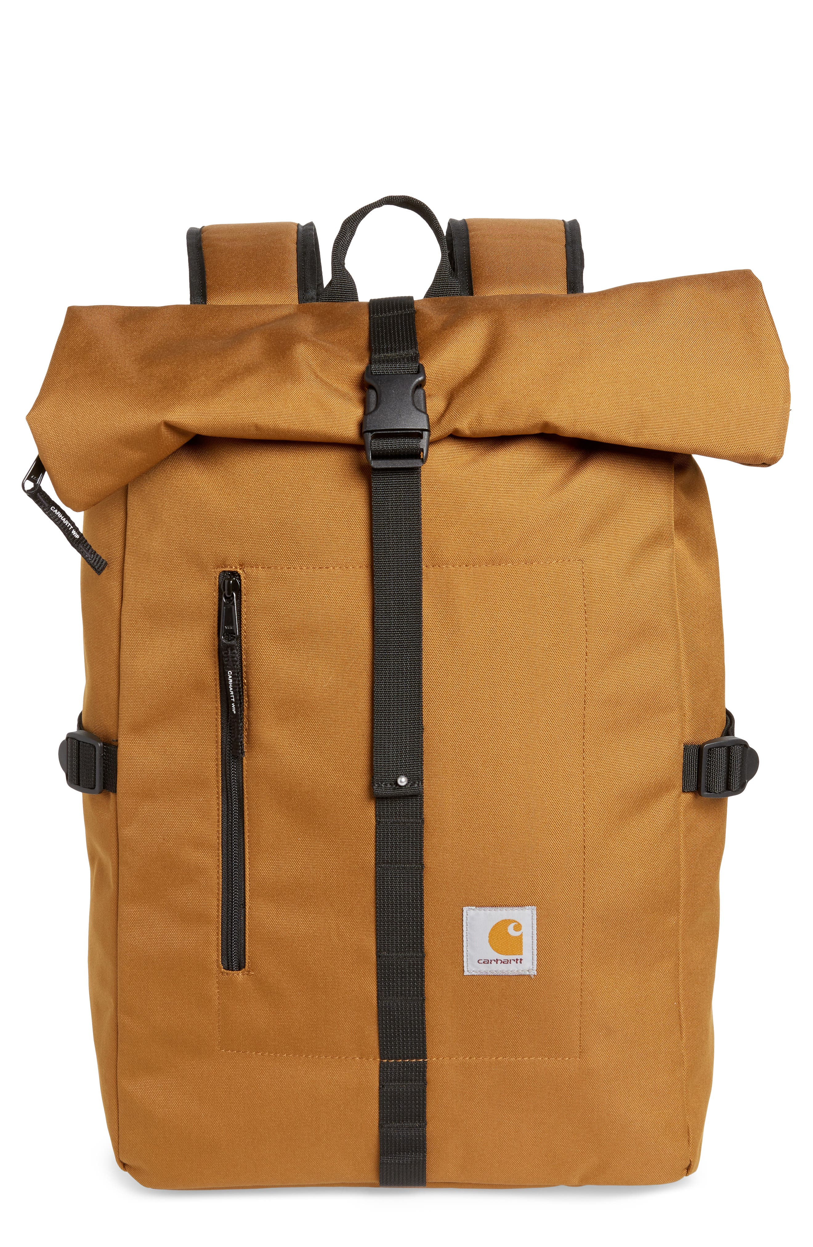 CARHARTT WORK IN PROGRESS Phil Backpack - Brown in Hamilton Brown