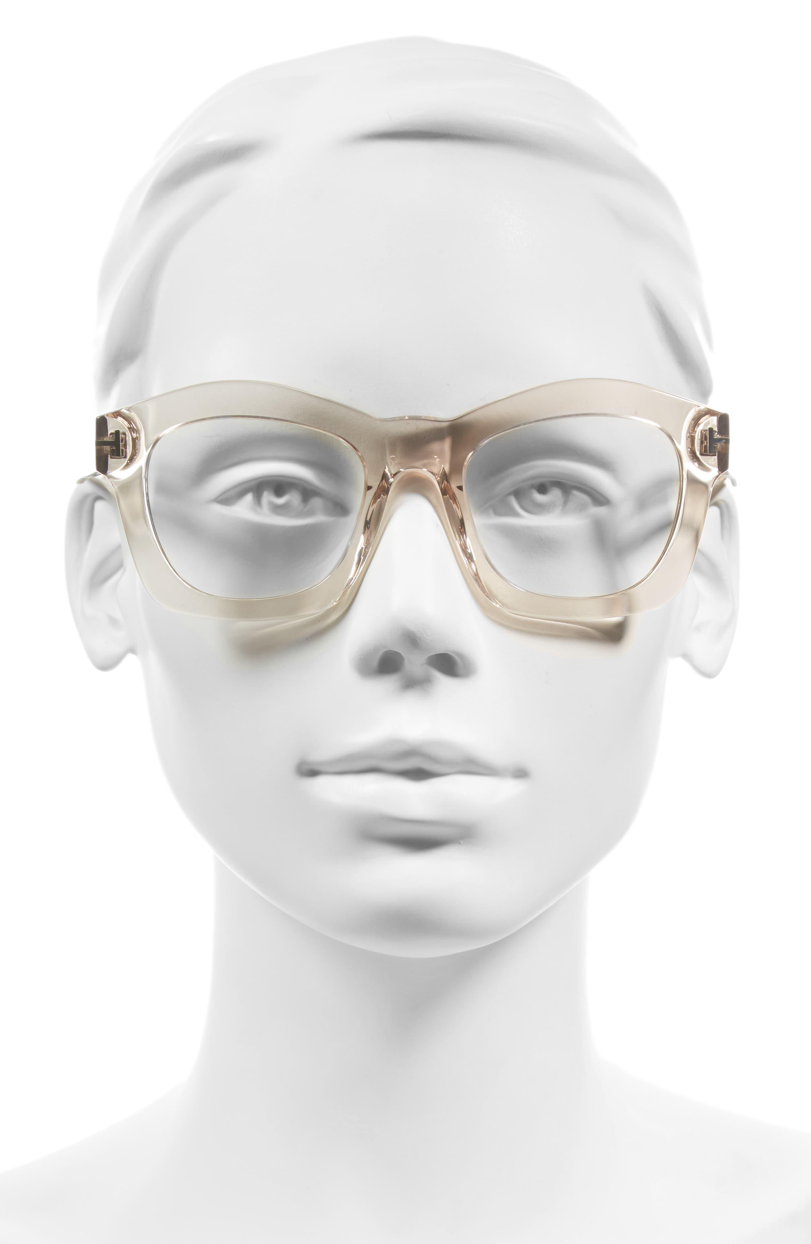 'Greta' 50mm Sunglasses,                             Alternate thumbnail 6, color,