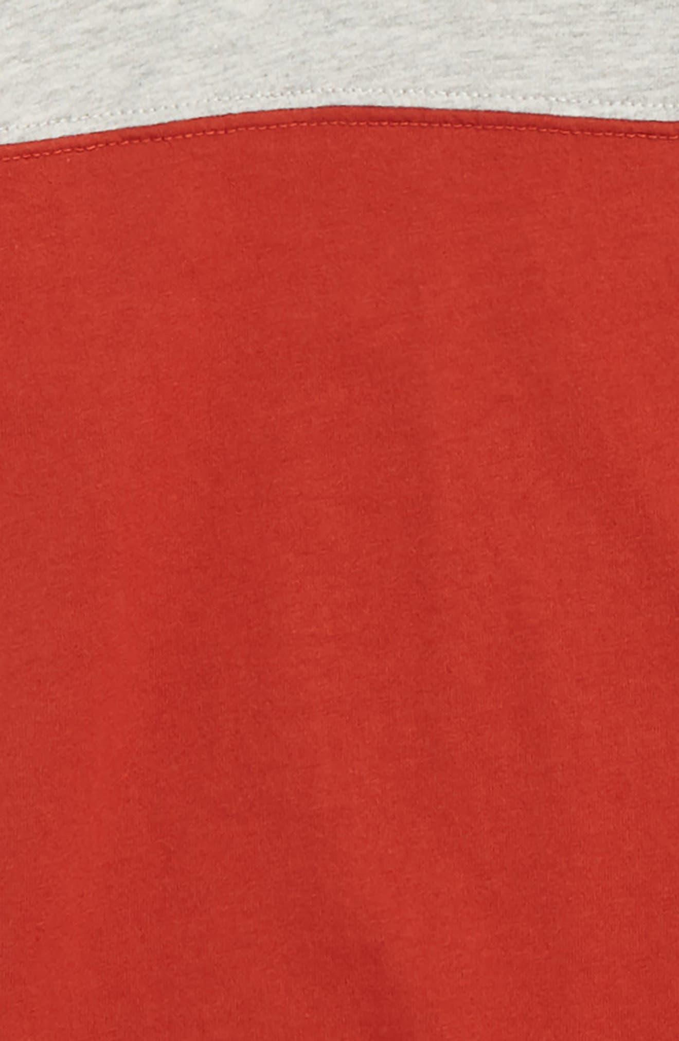 Stripe Football T-Shirt,                             Alternate thumbnail 2, color,                             601