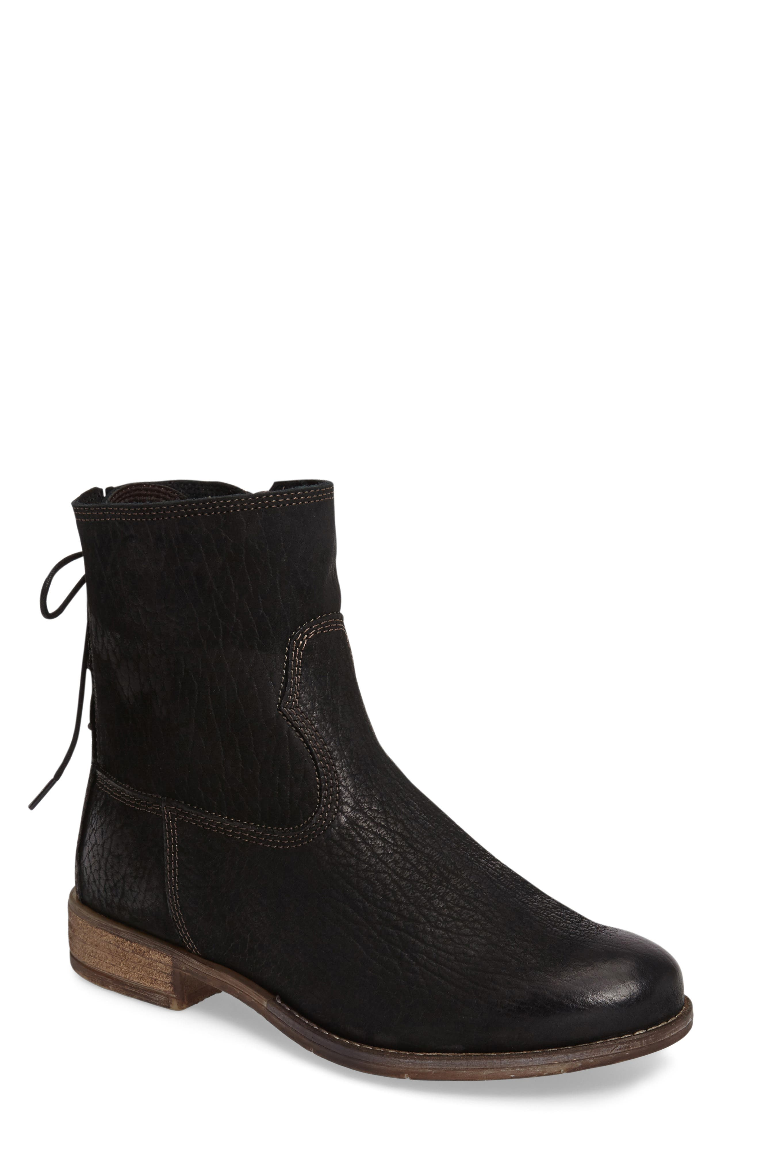 Sienna 01 Lace Back Bootie,                         Main,                         color, 007