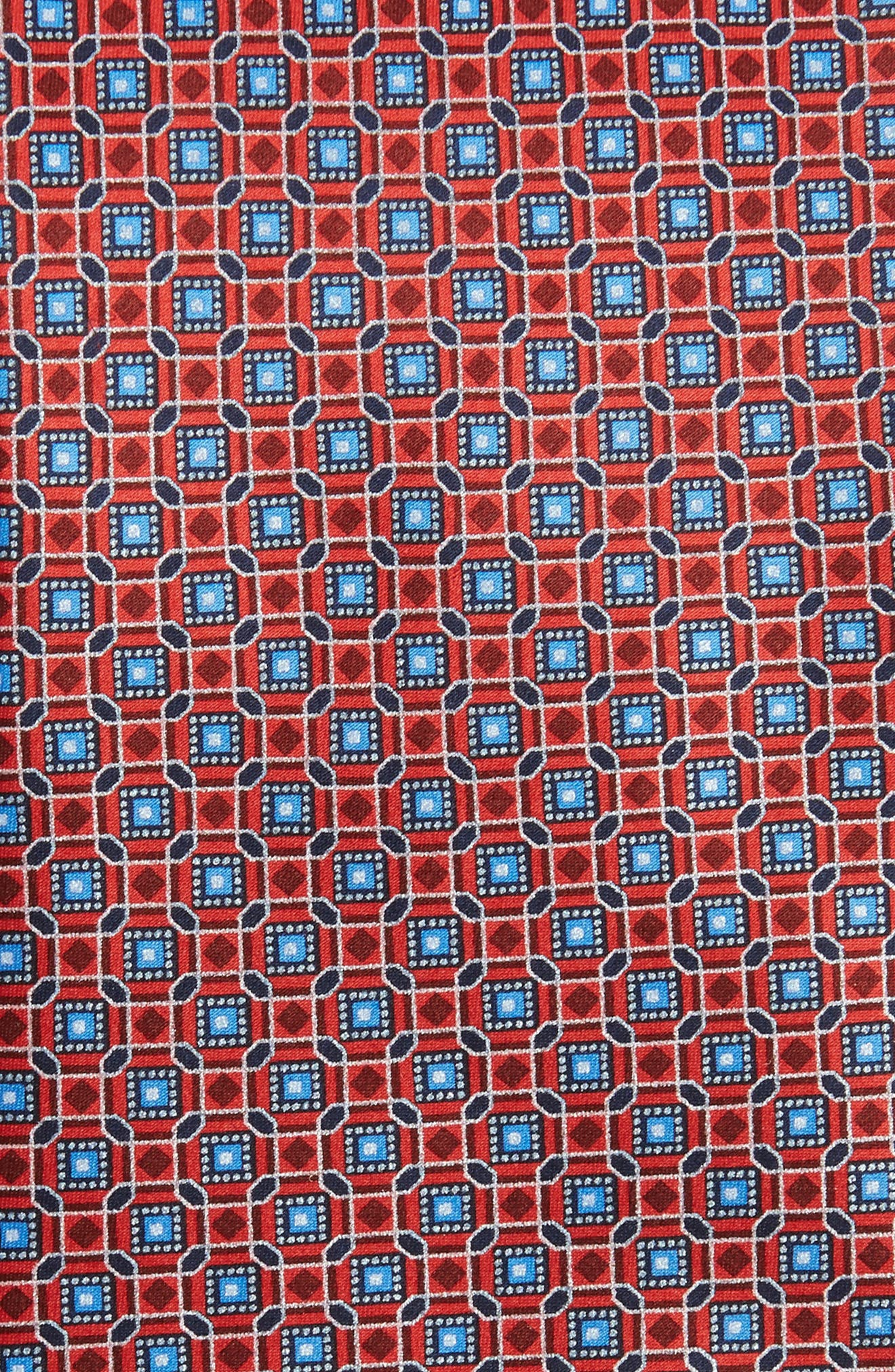 Neat Print Silk Tie,                             Alternate thumbnail 2, color,                             600