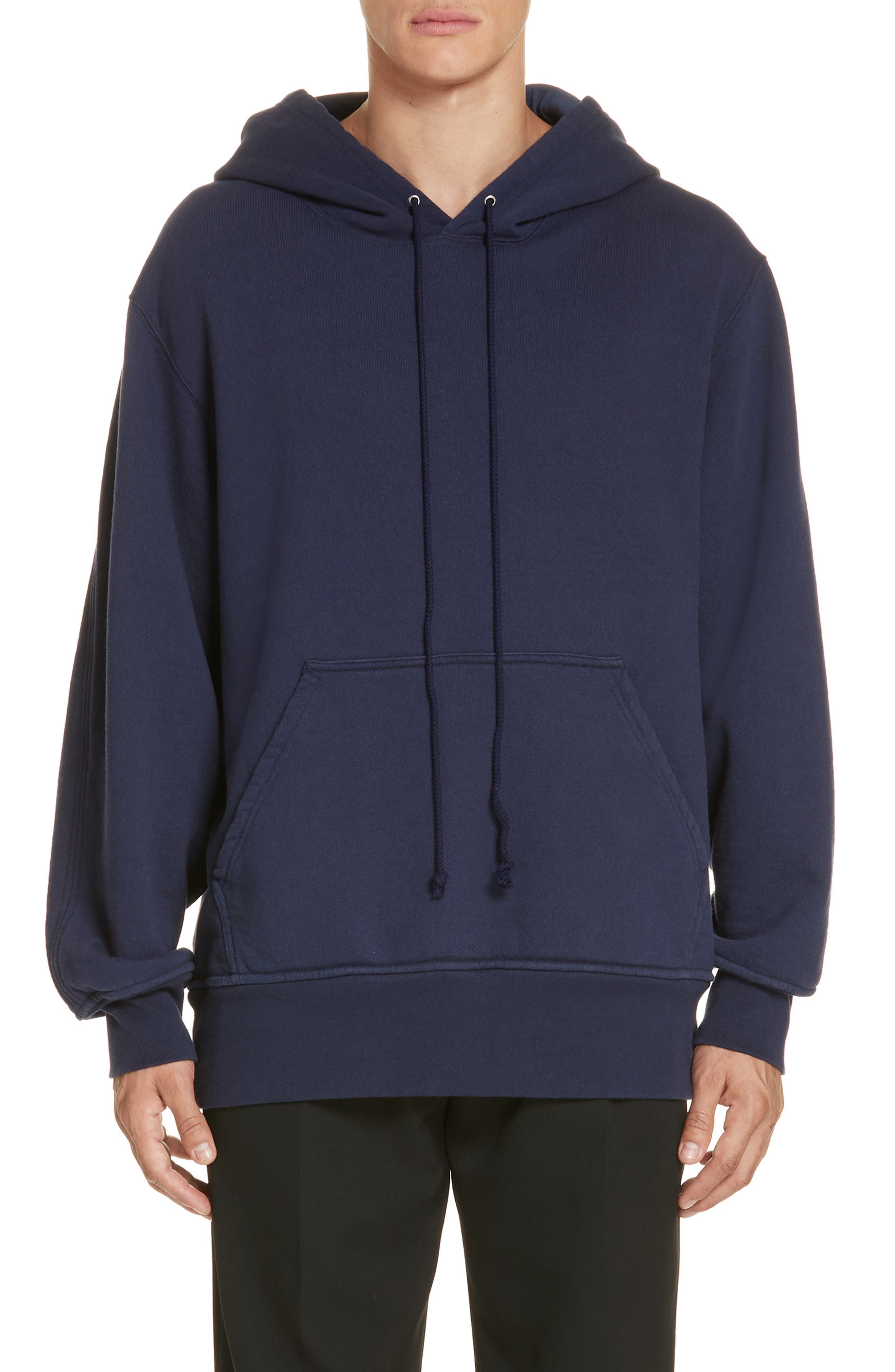 Oversize Hoodie,                         Main,                         color, MARINE