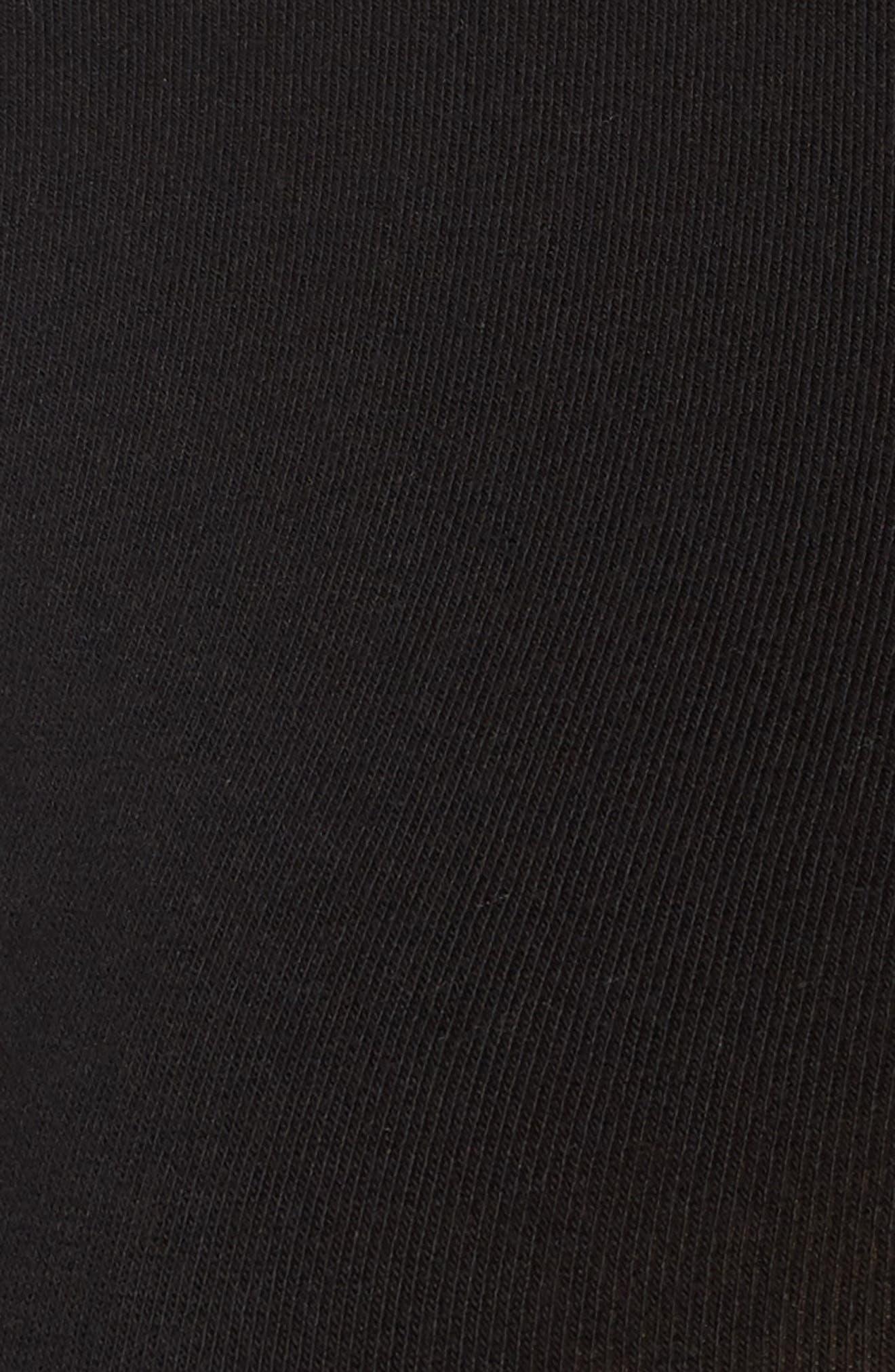 Crewneck Bodysuit,                             Alternate thumbnail 9, color,                             001