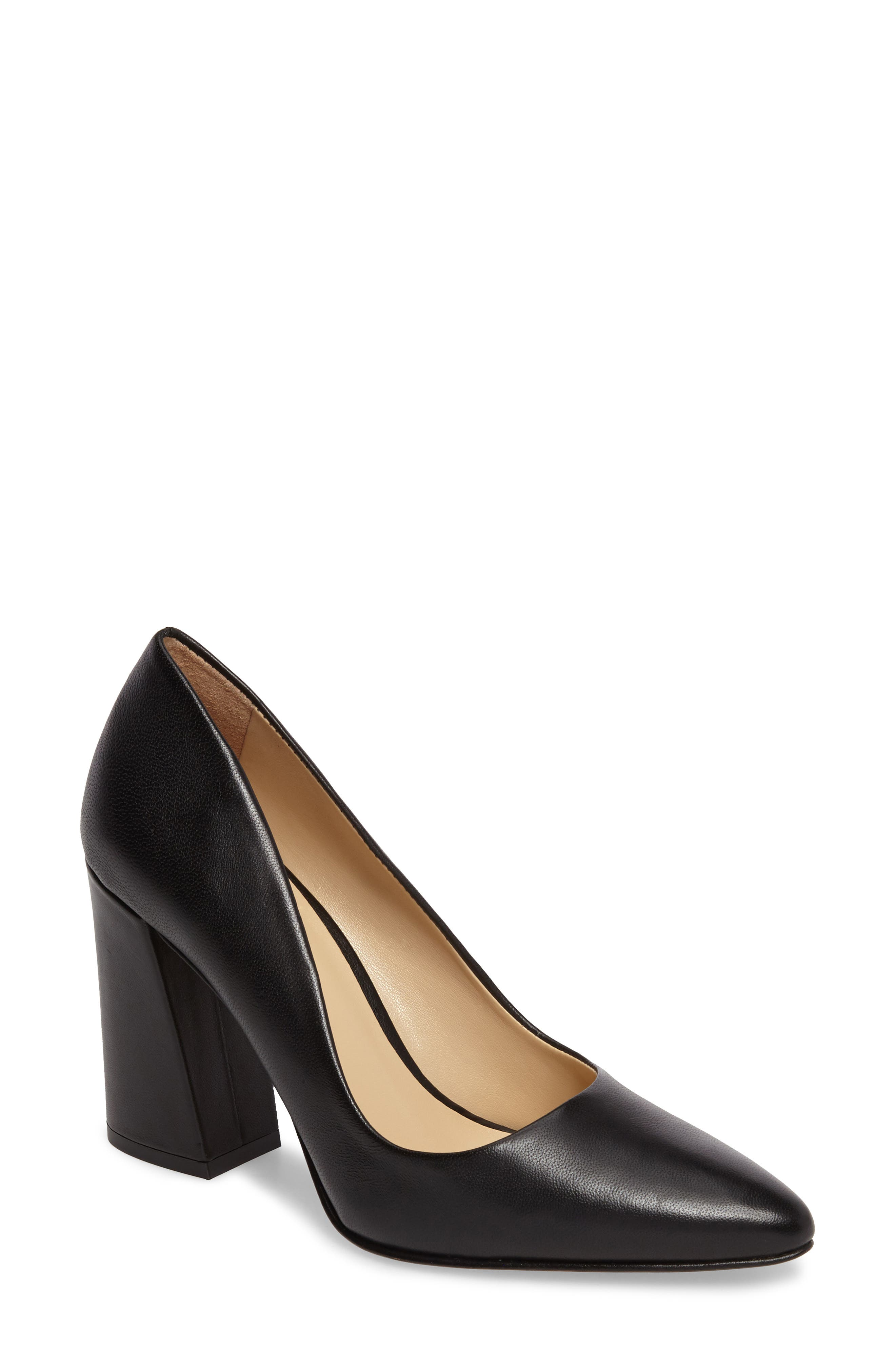 Talise Pointy Toe Pump,                         Main,                         color, BLACK BRULEE