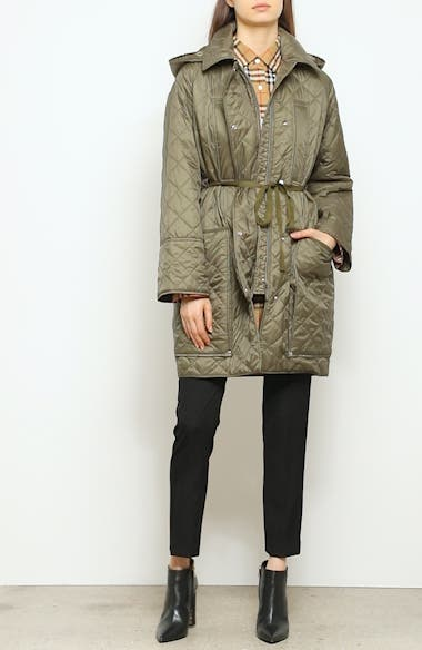 Coleraine Quilted Drawstring Jacket, video thumbnail