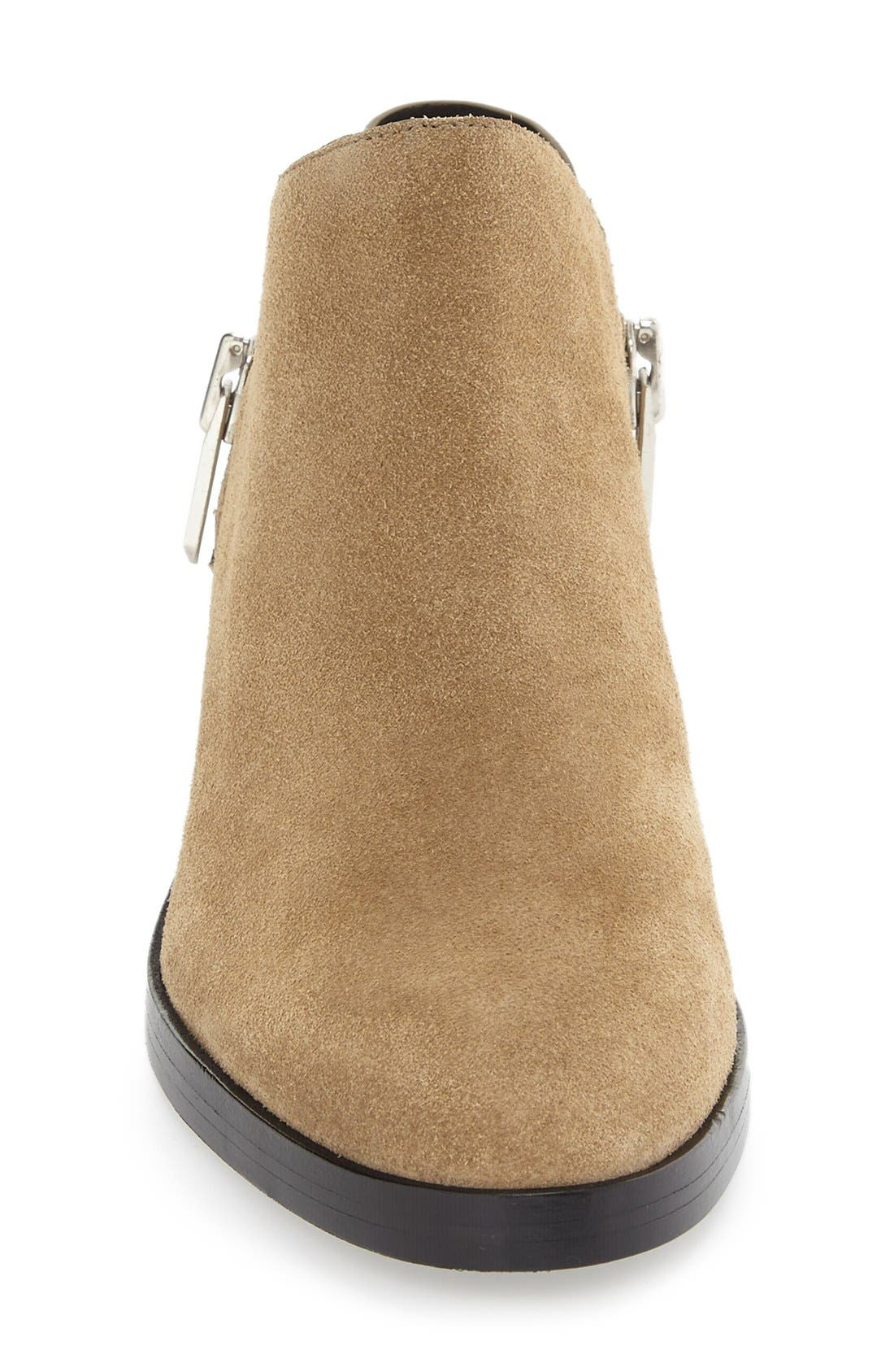 Alexa Zip Ankle Bootie,                             Alternate thumbnail 6, color,