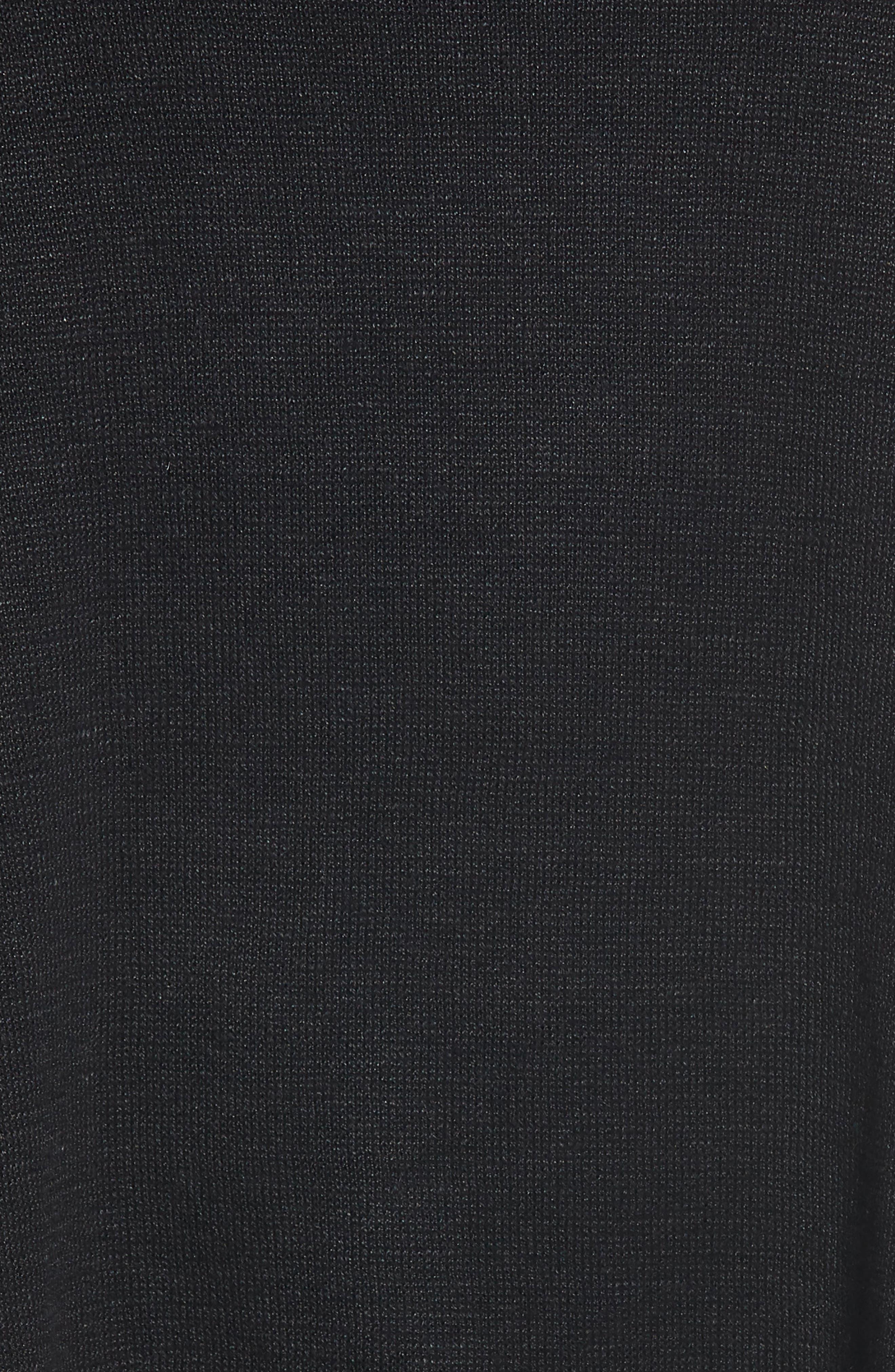 Asymmetrical Organic Linen Tunic,                             Alternate thumbnail 6, color,                             001