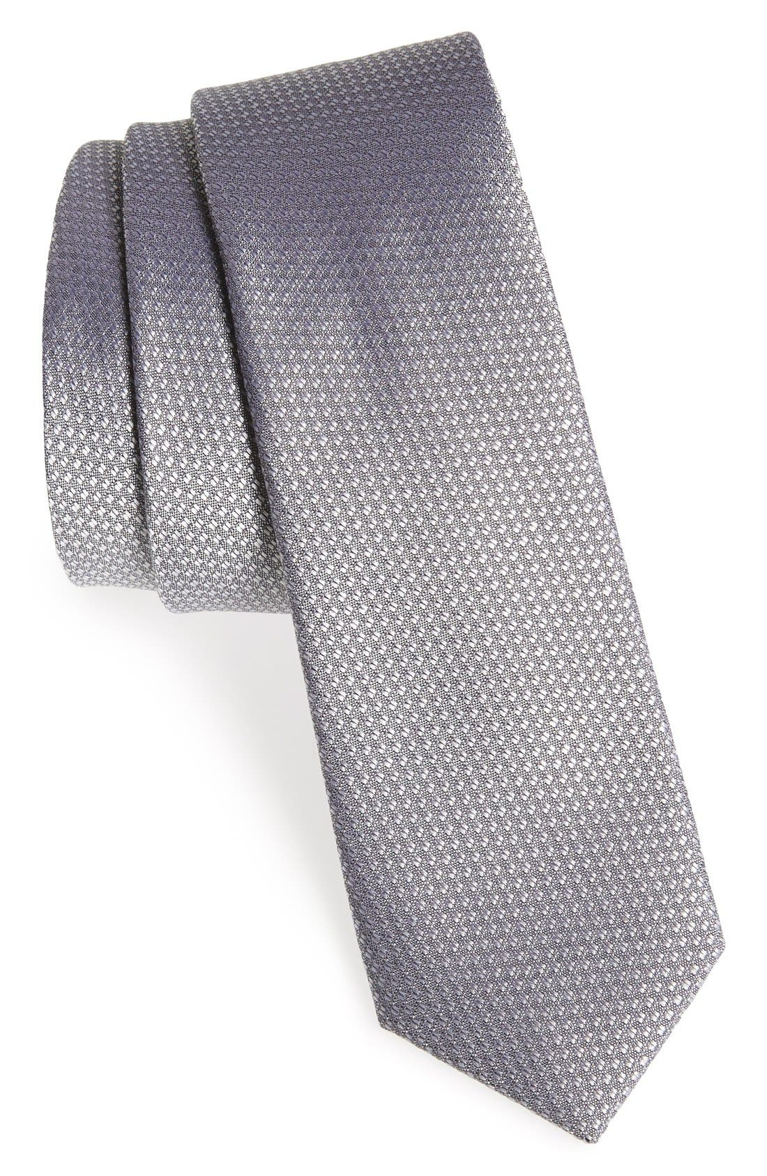 Seattle Textured Silk Tie,                             Main thumbnail 28, color,