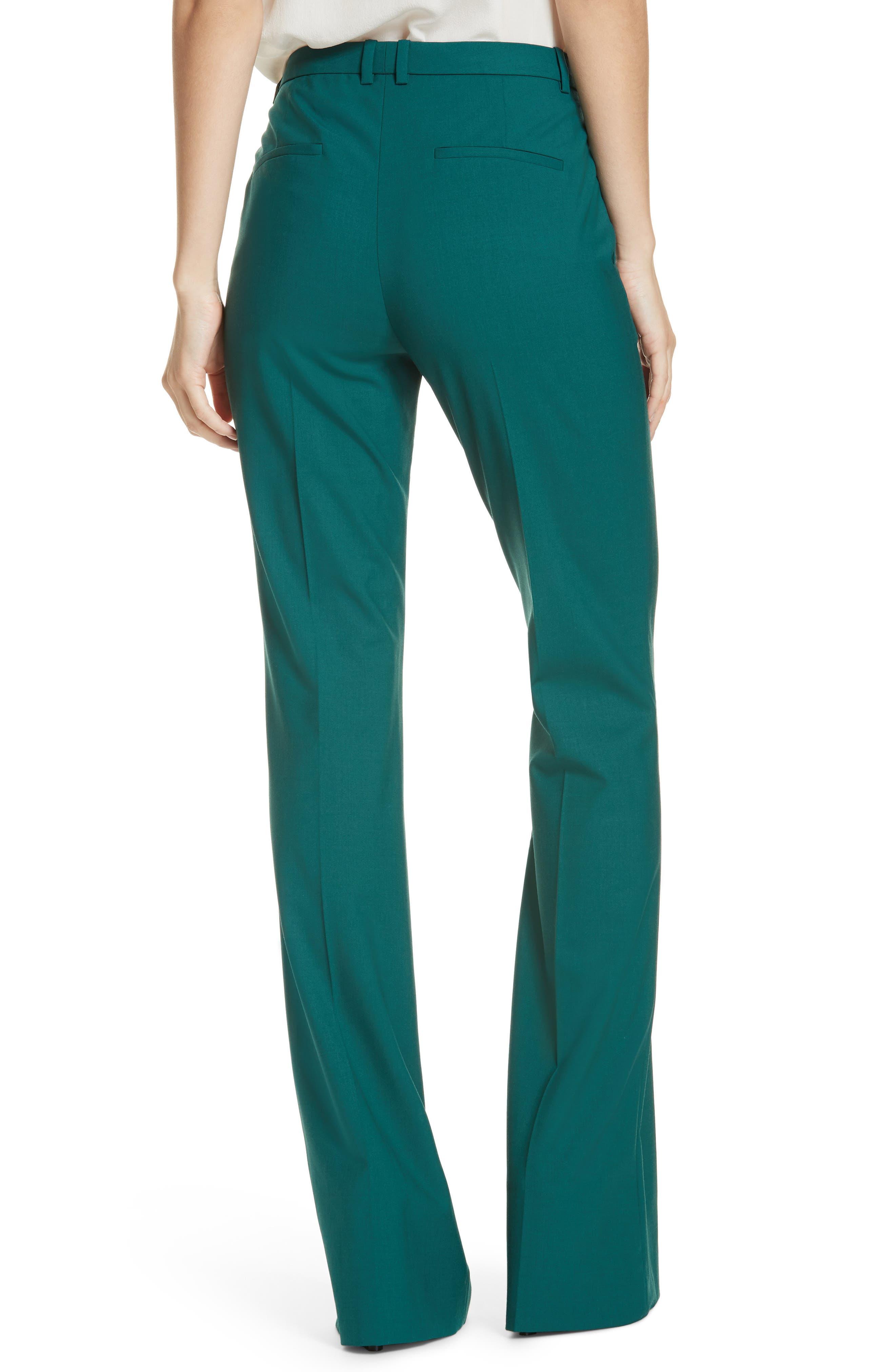 Demitria 2 Stretch Wool Suit Pants,                             Alternate thumbnail 6, color,