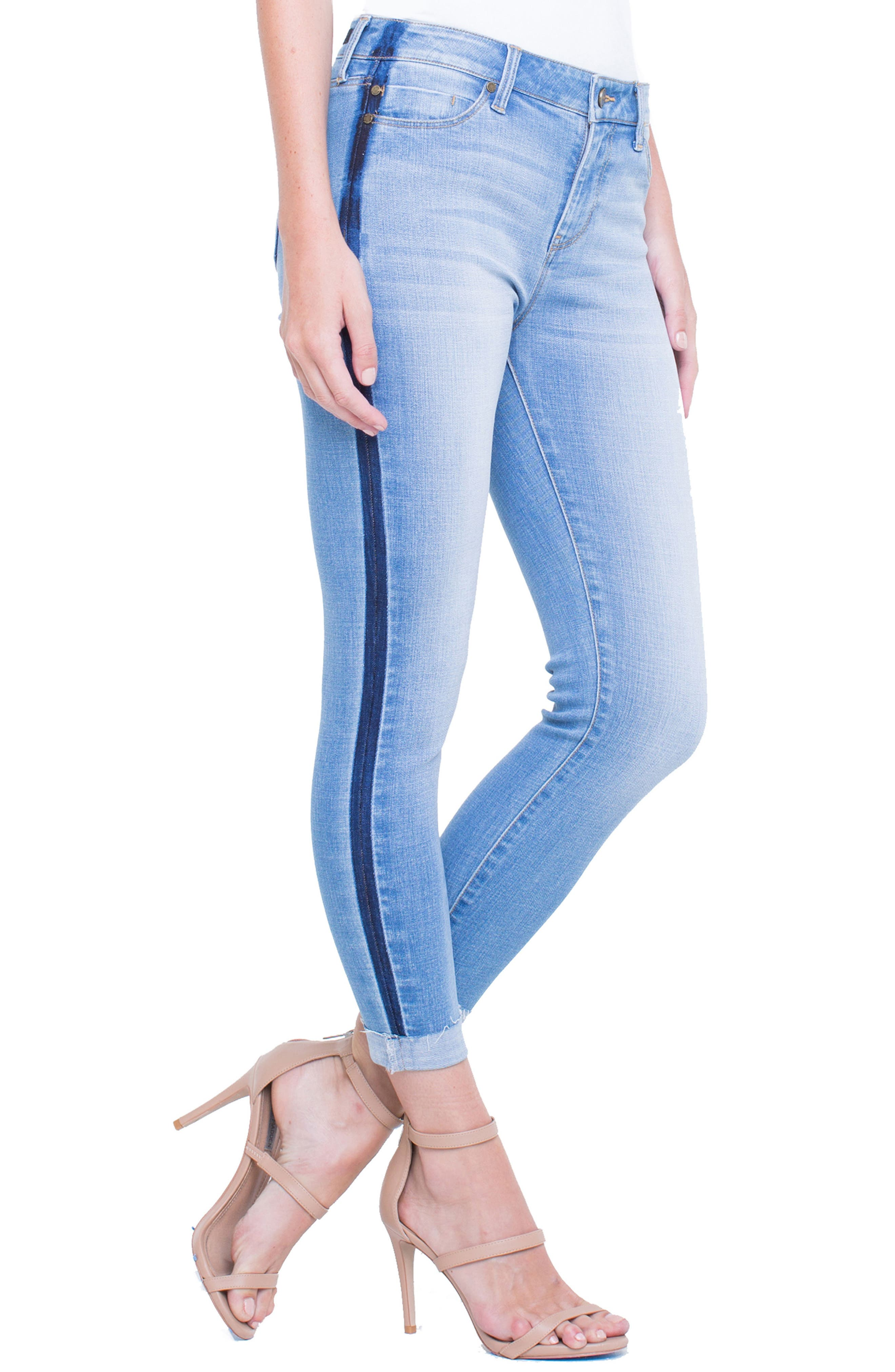 Colton Crop Skinny Jeans,                             Alternate thumbnail 3, color,