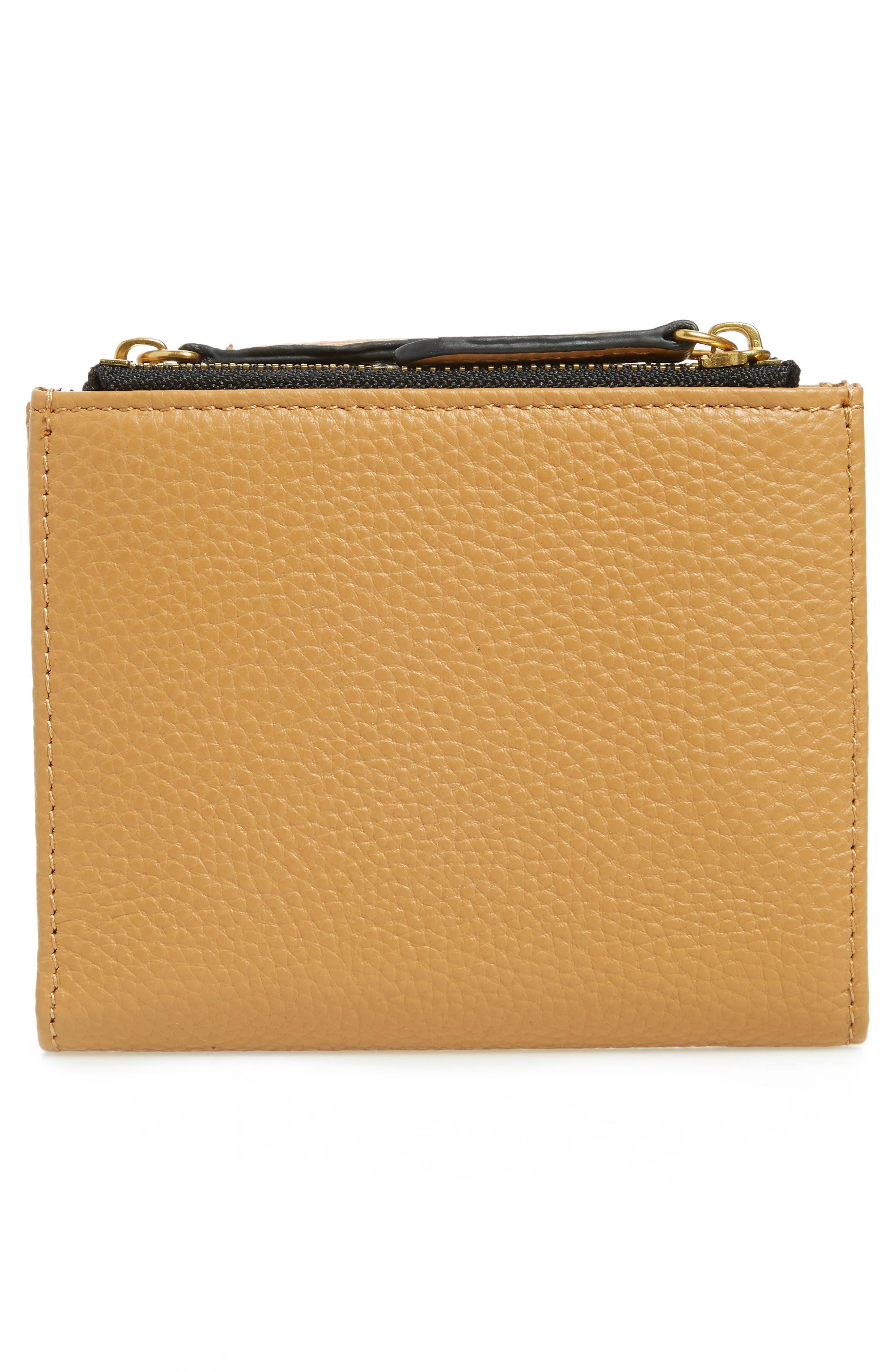 E Leather Wallet,                             Alternate thumbnail 15, color,