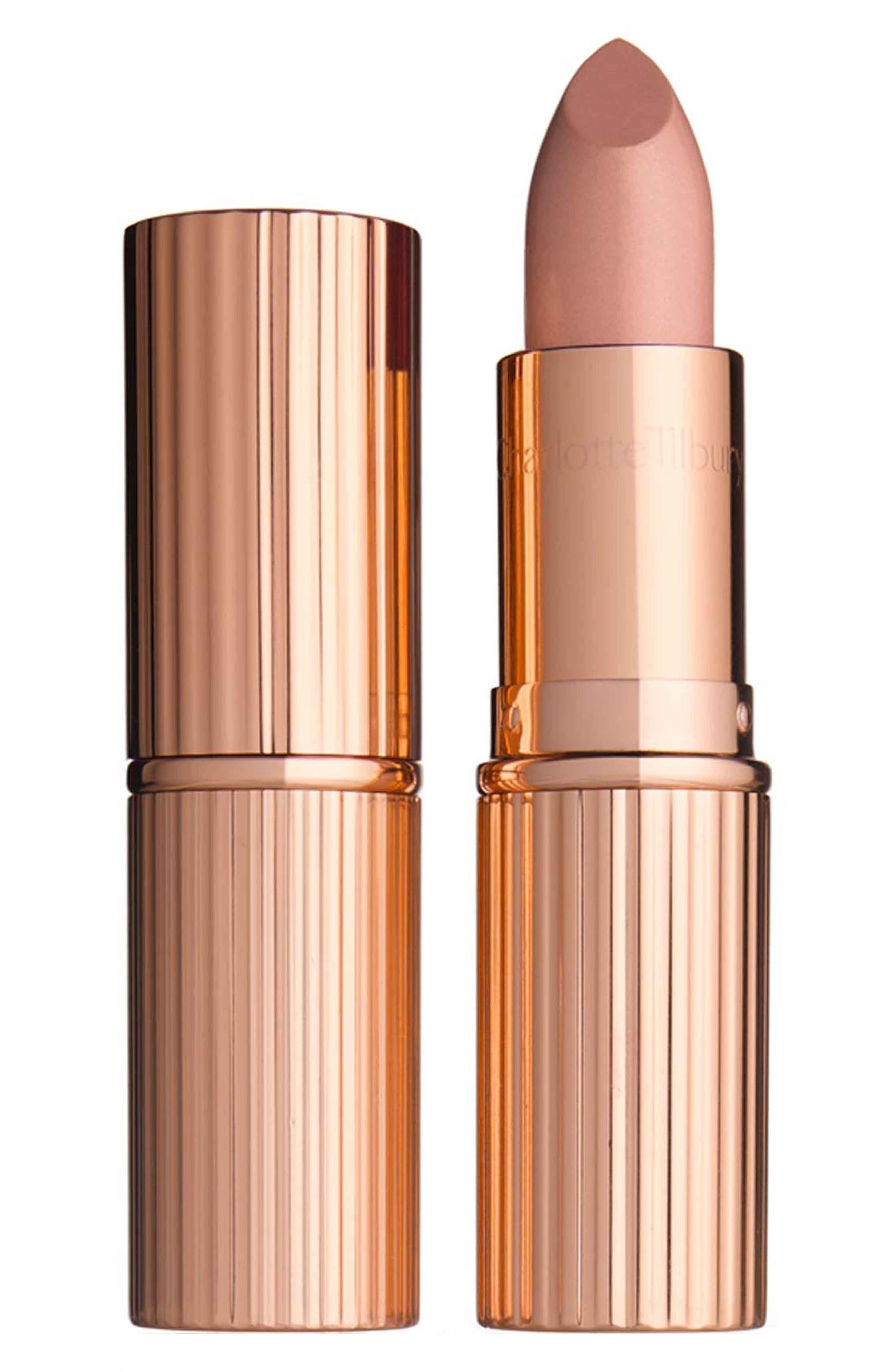 K.I.S.S.I.N.G Lipstick,                         Main,                         color, NUDE KATE