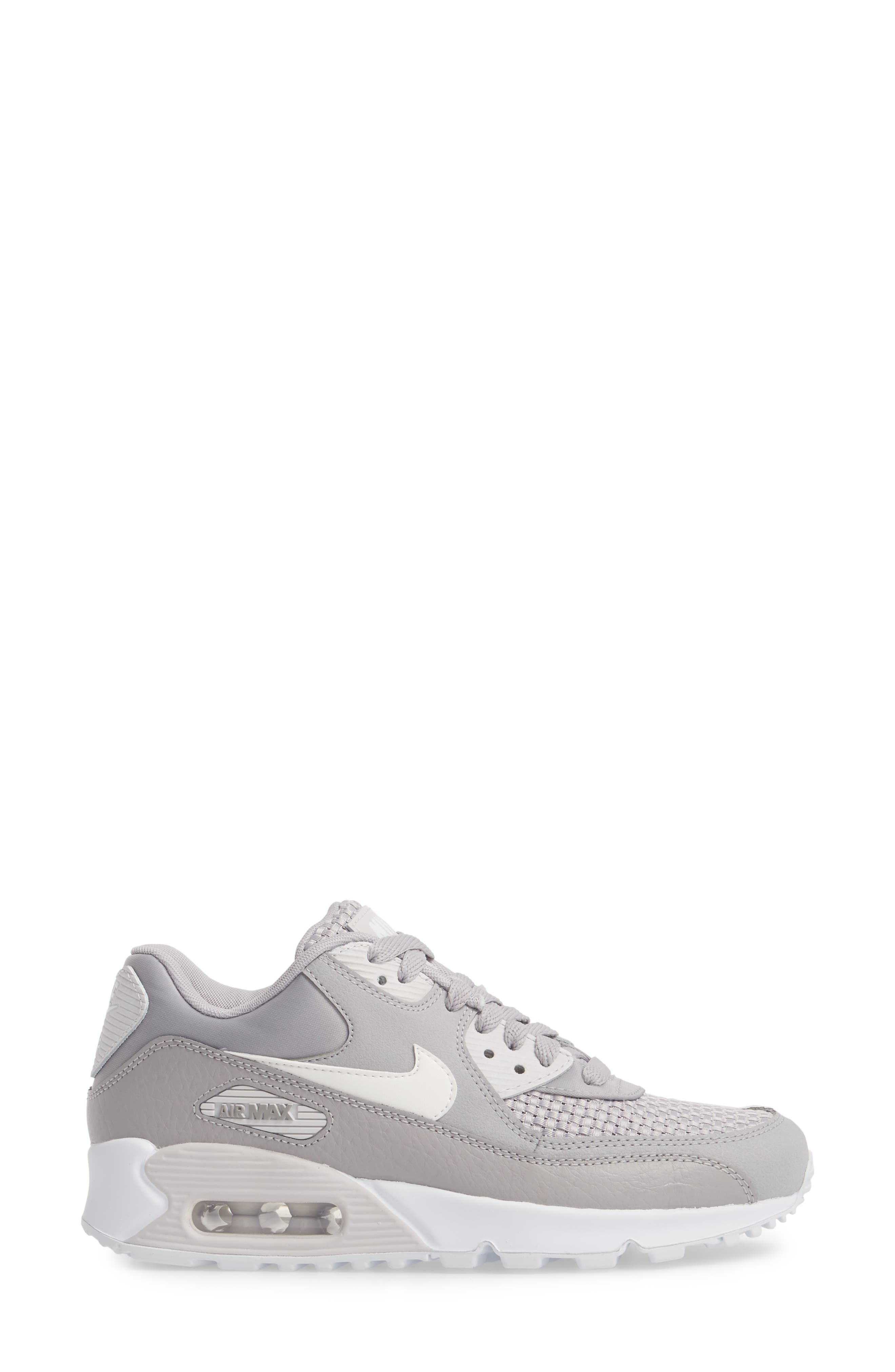 Air Max 90 SE Sneaker,                             Alternate thumbnail 19, color,