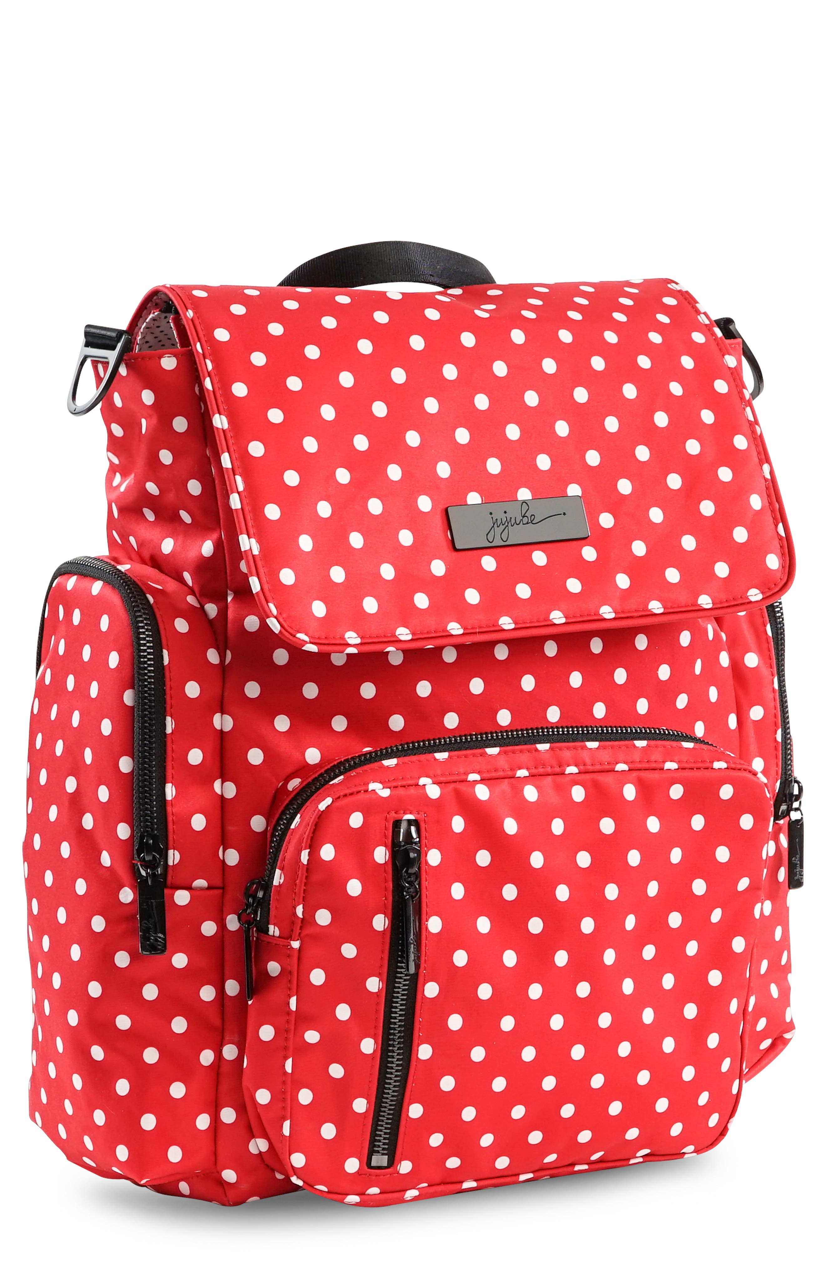 Onyx Be Sporty Diaper Backpack,                             Alternate thumbnail 5, color,                             BLACK RUBY