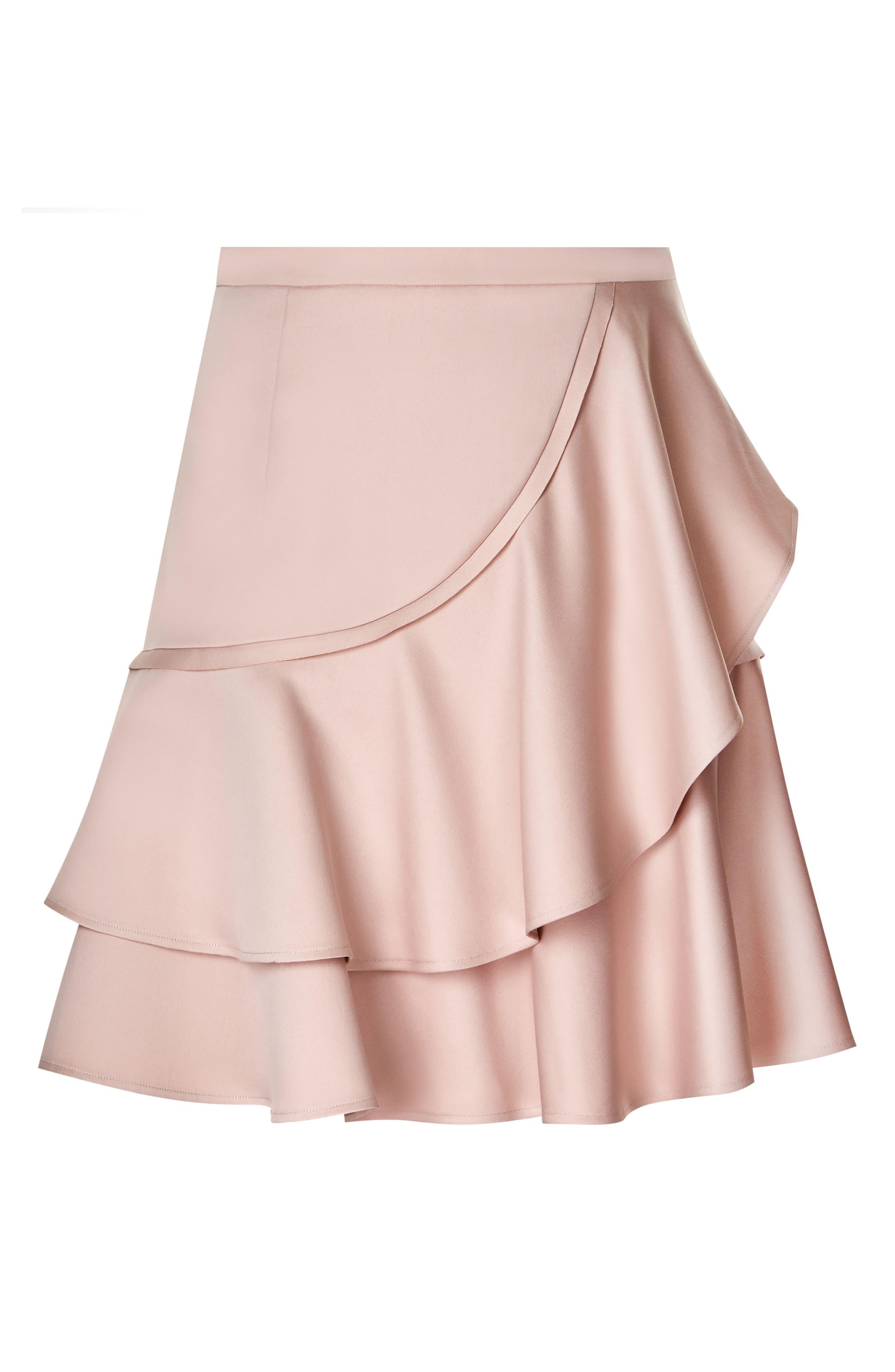 Frill Me Ruffle Skirt,                             Alternate thumbnail 3, color,                             657