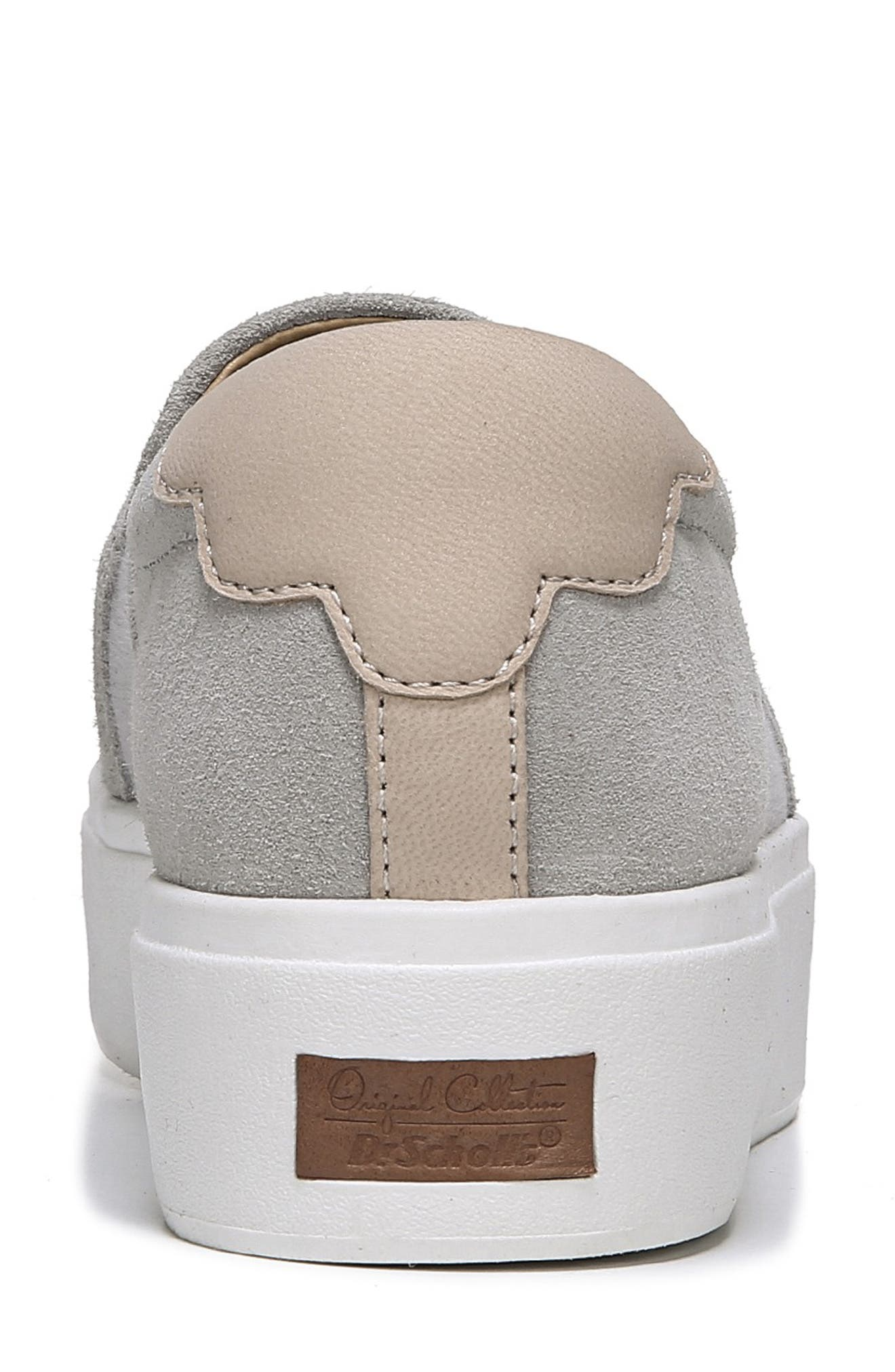 Abbot Lux Sneaker,                             Alternate thumbnail 7, color,                             GREY LEATHER