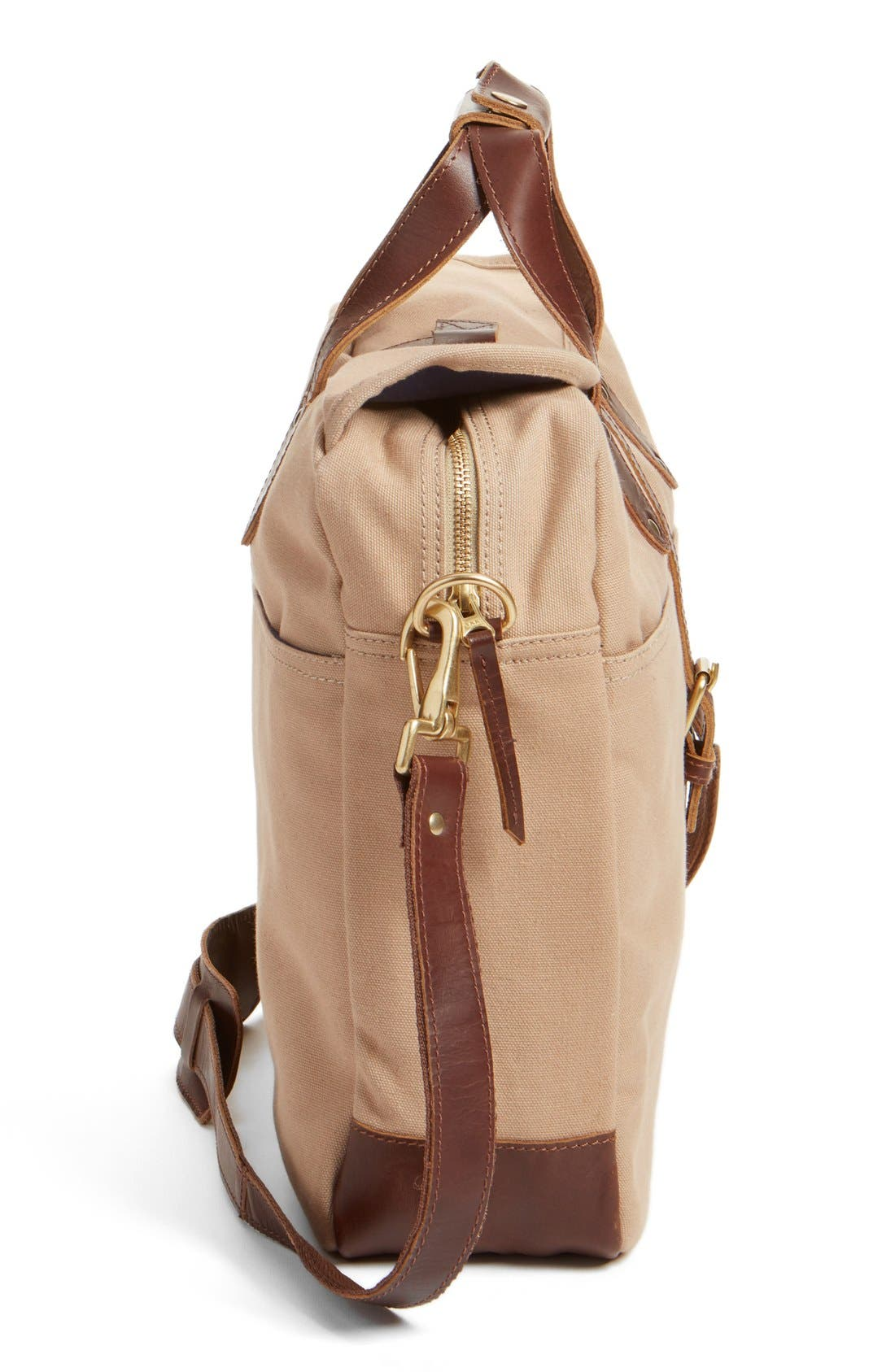 'Lakeland' Laptop Bag,                             Alternate thumbnail 6, color,                             TAN