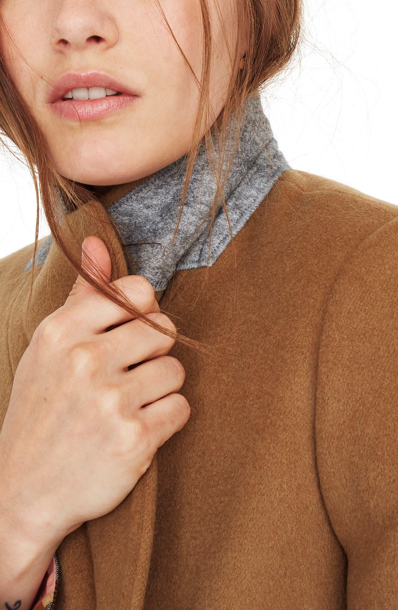 Hollis Double Breasted Coat,                             Alternate thumbnail 3, color,                             CLASSIC DESERT