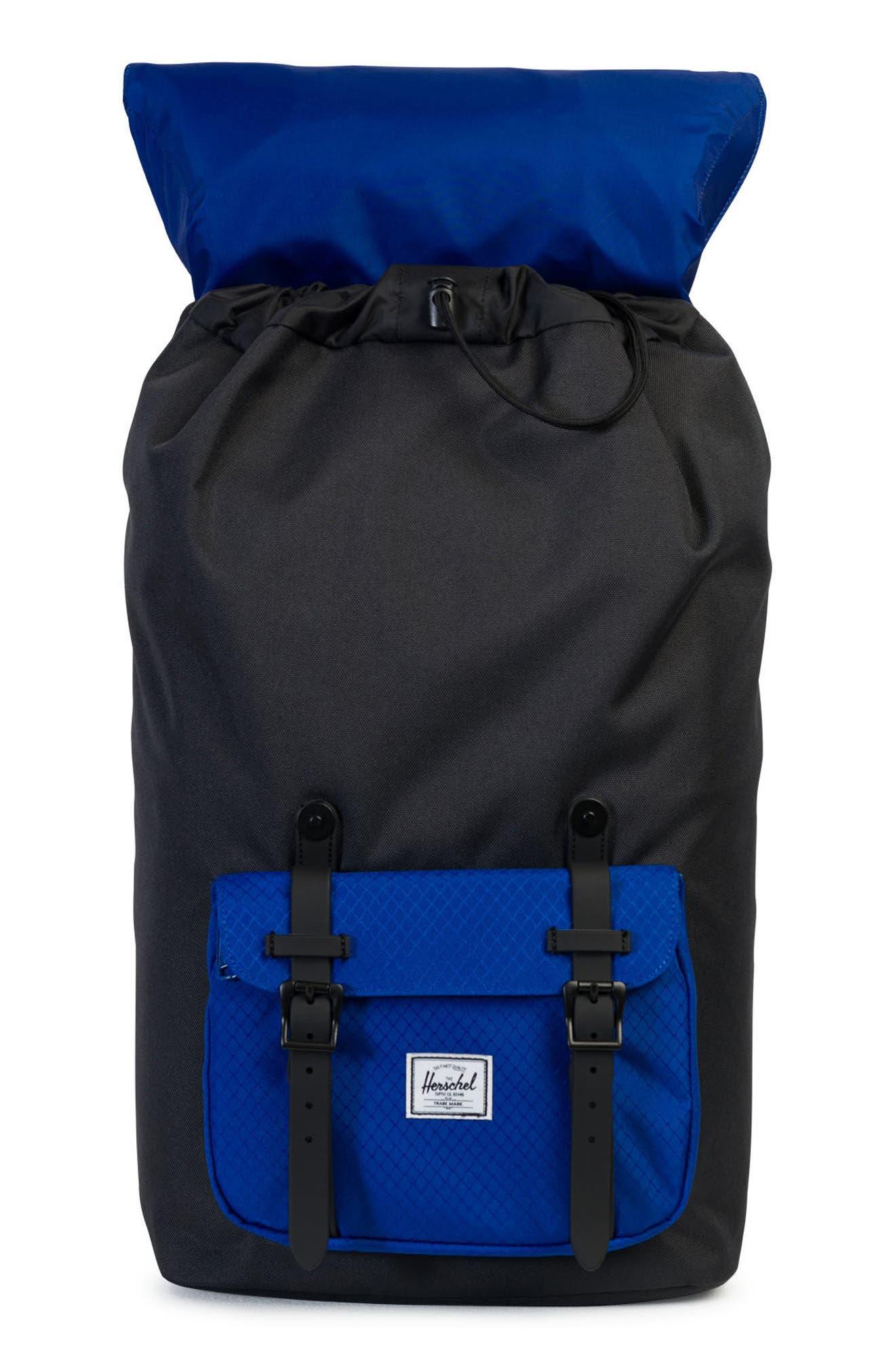 Little America Contrast Backpack,                             Alternate thumbnail 3, color,                             007