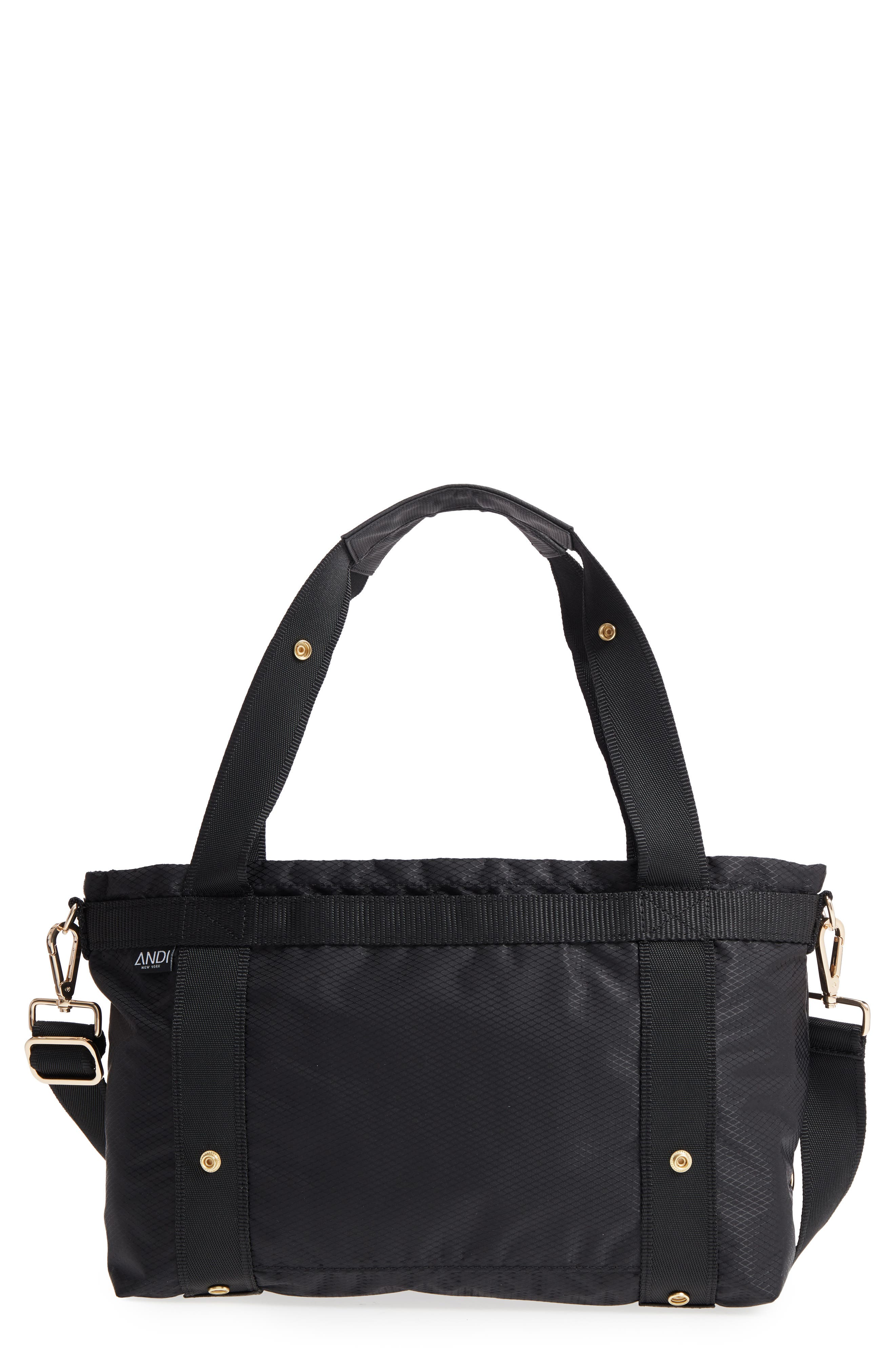 The ANDI Small Convertible Tote,                             Main thumbnail 1, color,                             BLACK