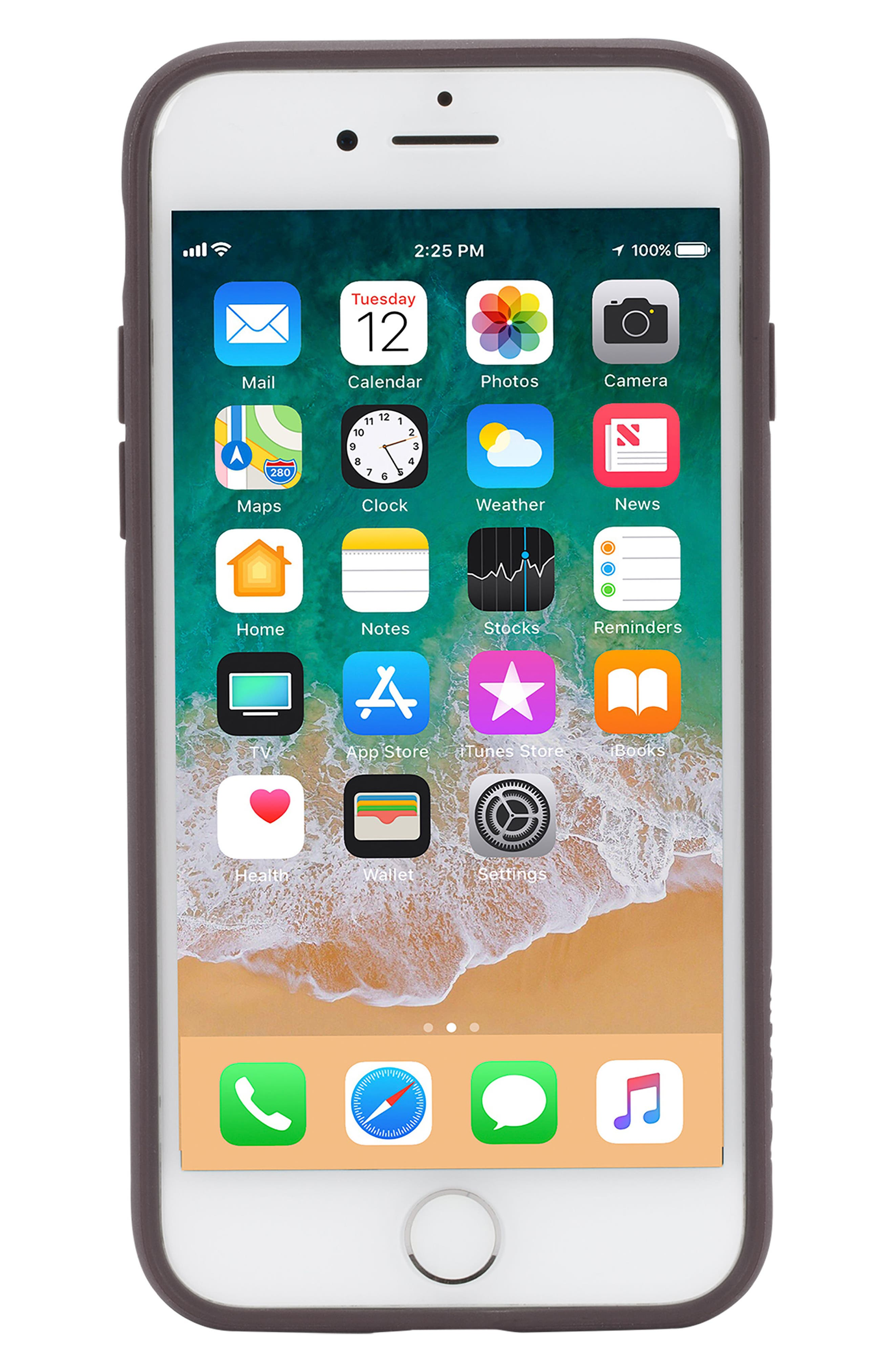 Pop iPhone 7/8 Case,                             Alternate thumbnail 3, color,                             DEEP TAUPE