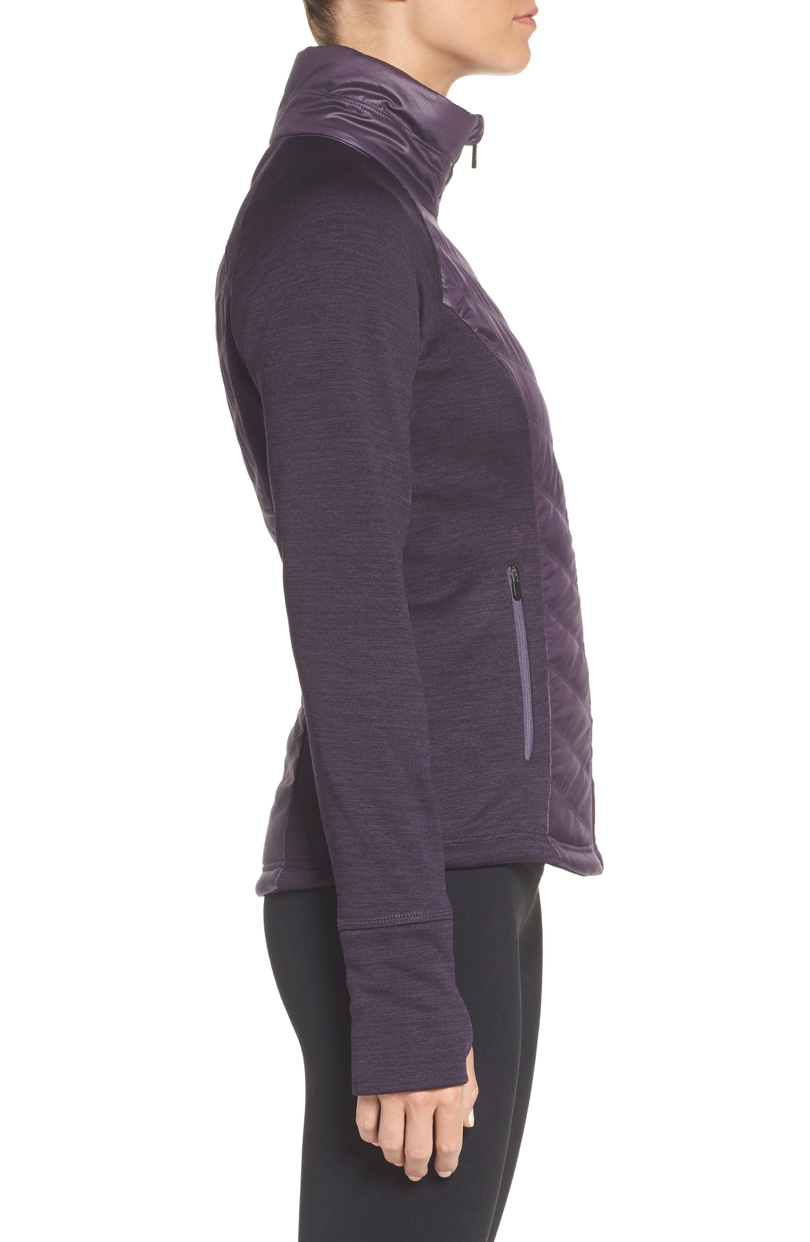 Zelfusion Reflective Quilted Jacket,                             Alternate thumbnail 22, color,