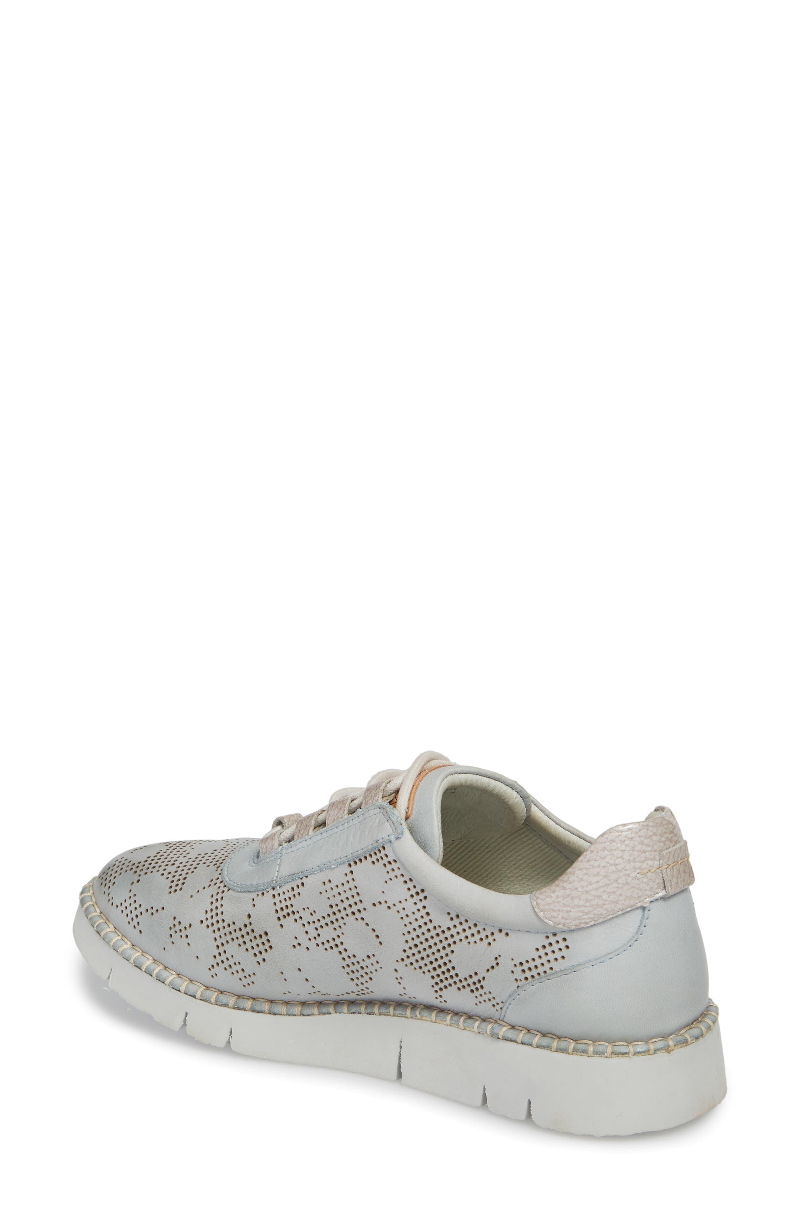 Vera Sneaker,                             Alternate thumbnail 2, color,                             AQUA LEATHER