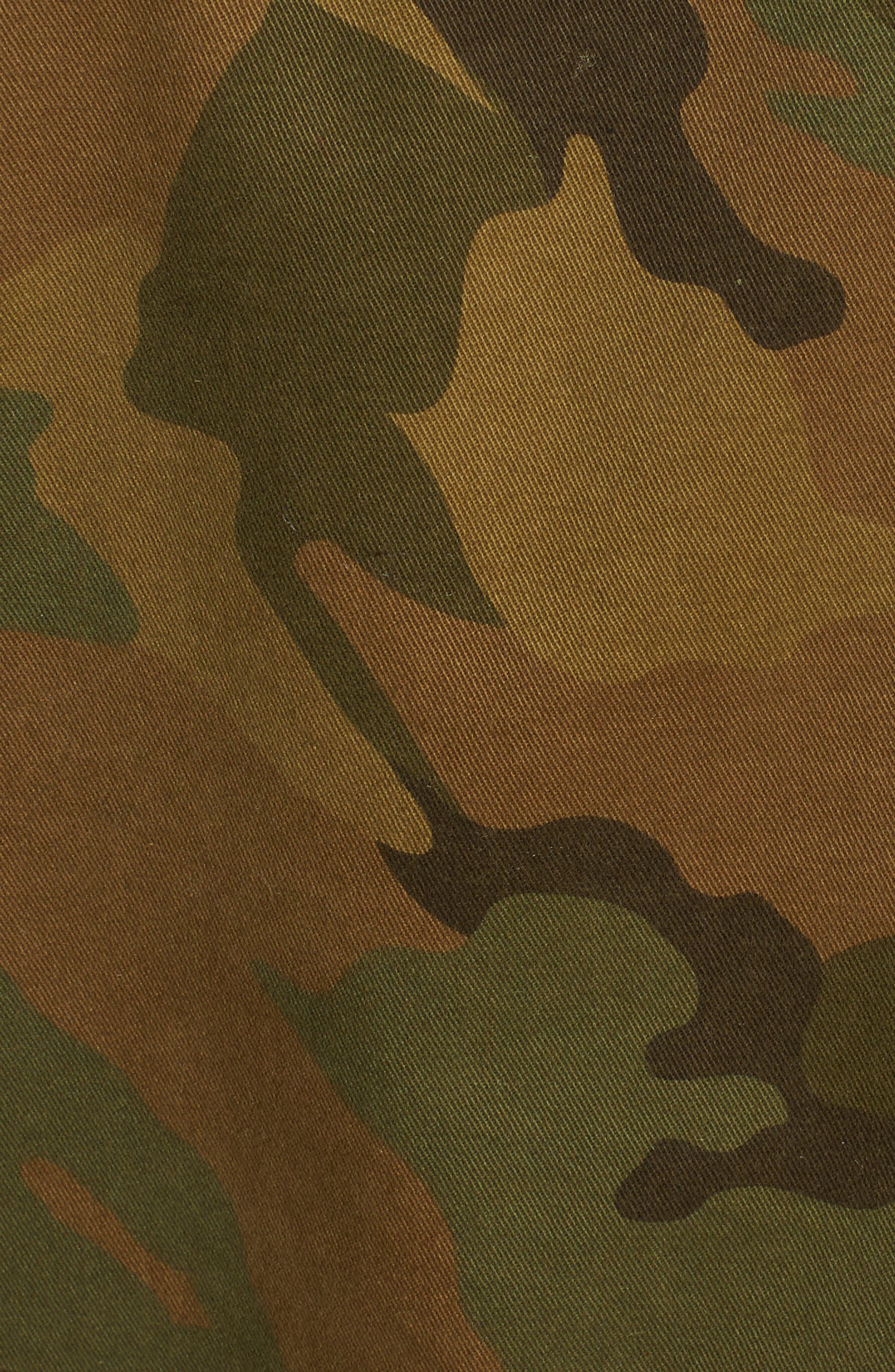 Kavys Embroidered Camo Jacket,                             Alternate thumbnail 7, color,