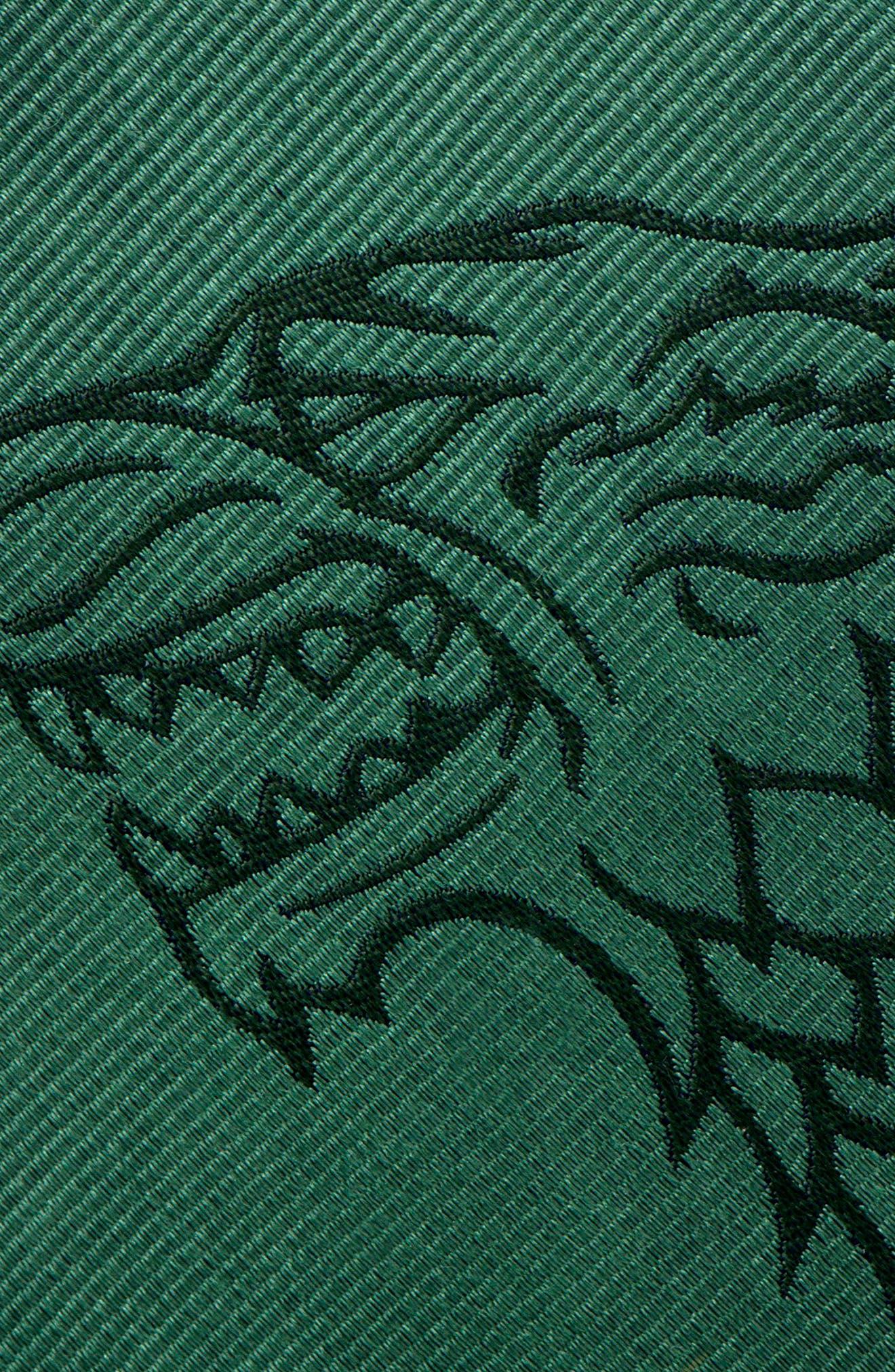 Game of Thrones Stark Silk Tie,                             Alternate thumbnail 3, color,                             GREEN