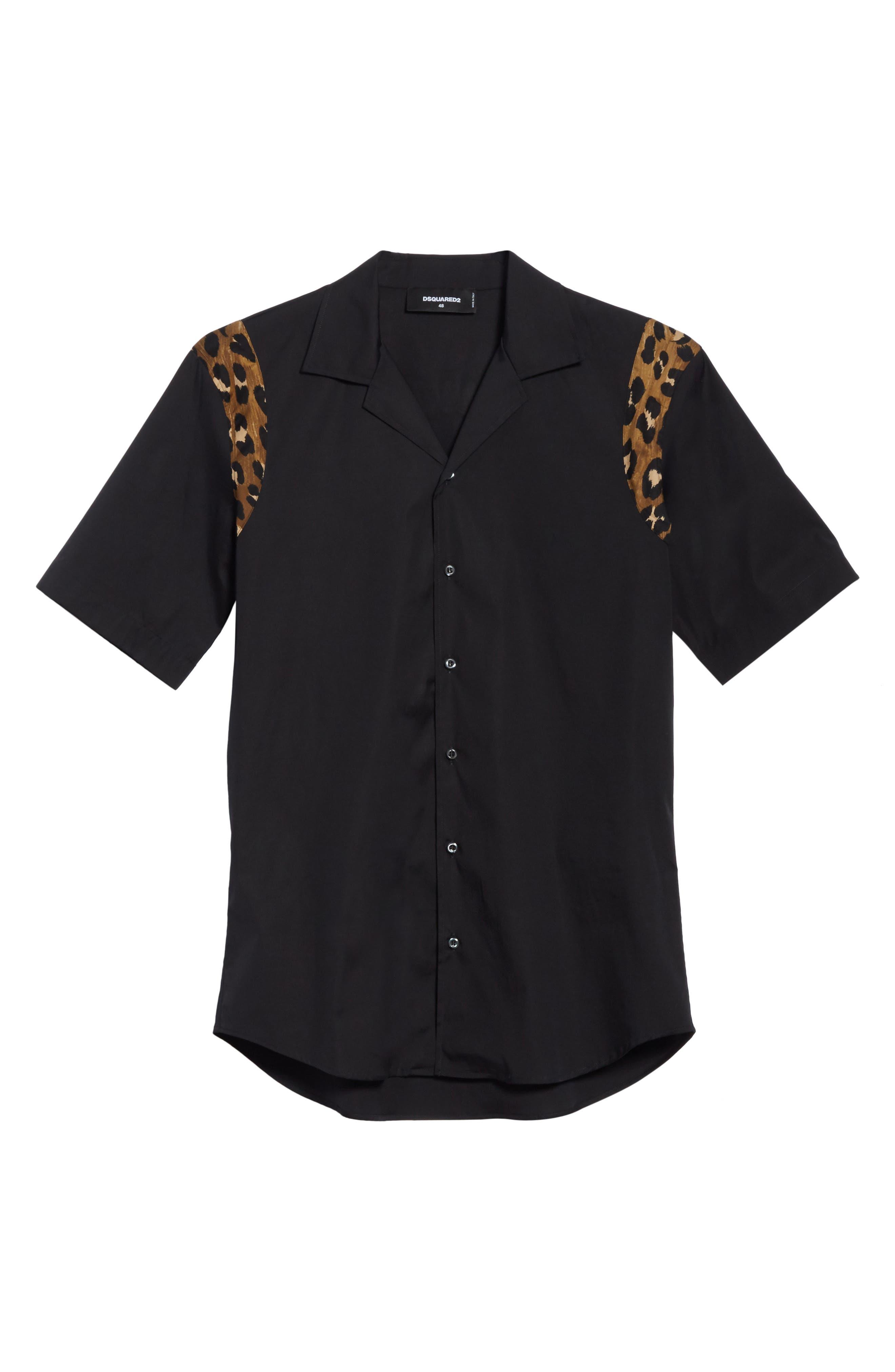 Bowling Shirt,                             Alternate thumbnail 6, color,                             001