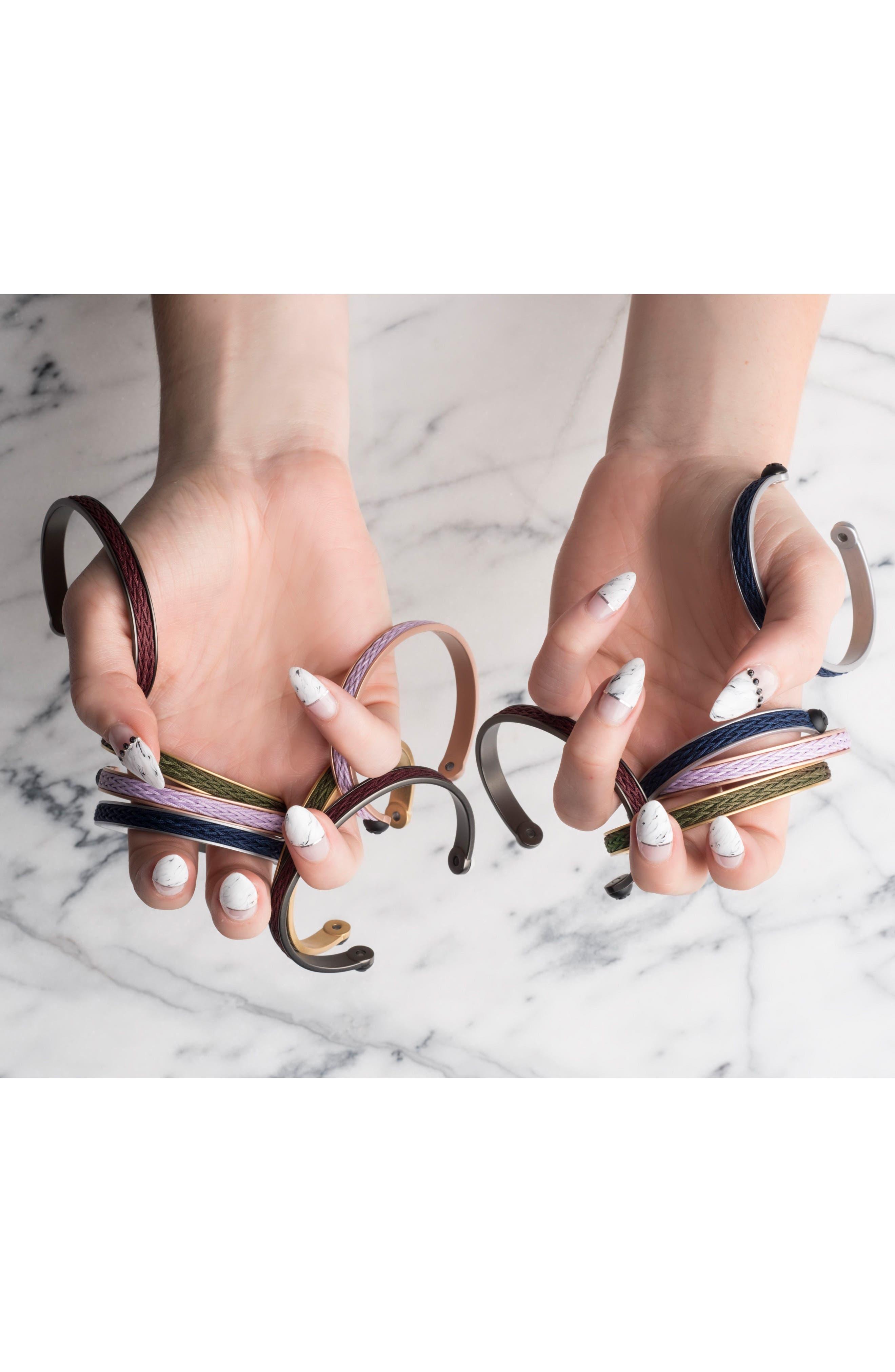 Braided Cuff Bracelet,                             Alternate thumbnail 13, color,