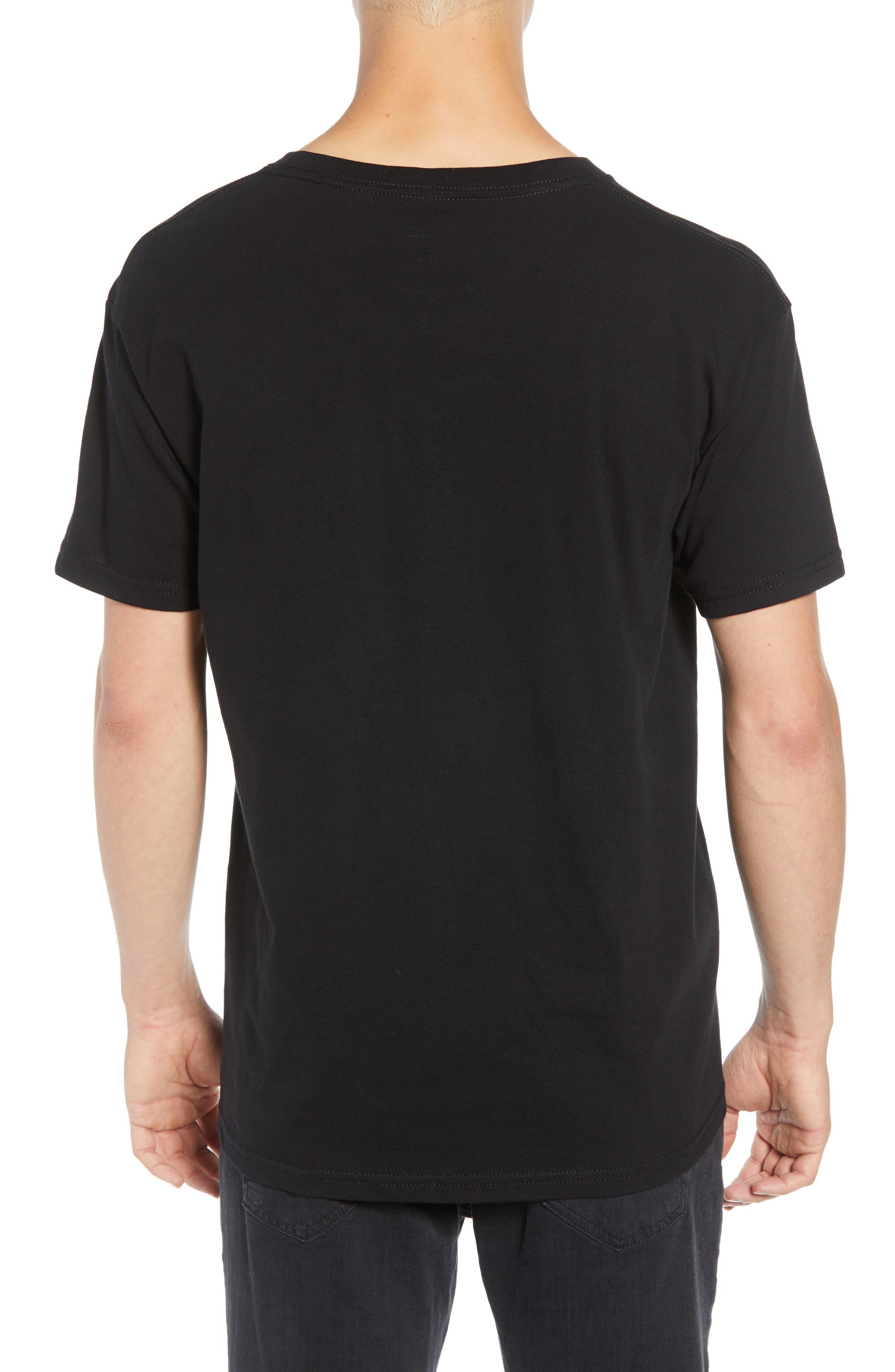 Visual Fidelity Premium T-Shirt,                             Alternate thumbnail 2, color,                             BLACK